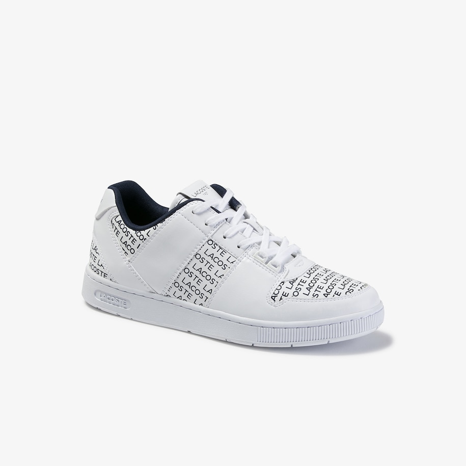 Men's Thrill Contrast-color Leather Sneakers