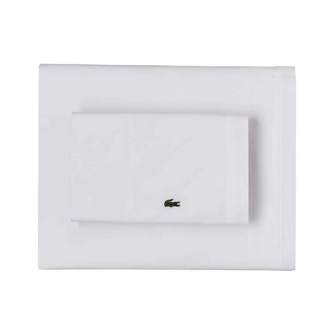 Percale White Standard Pillowcase