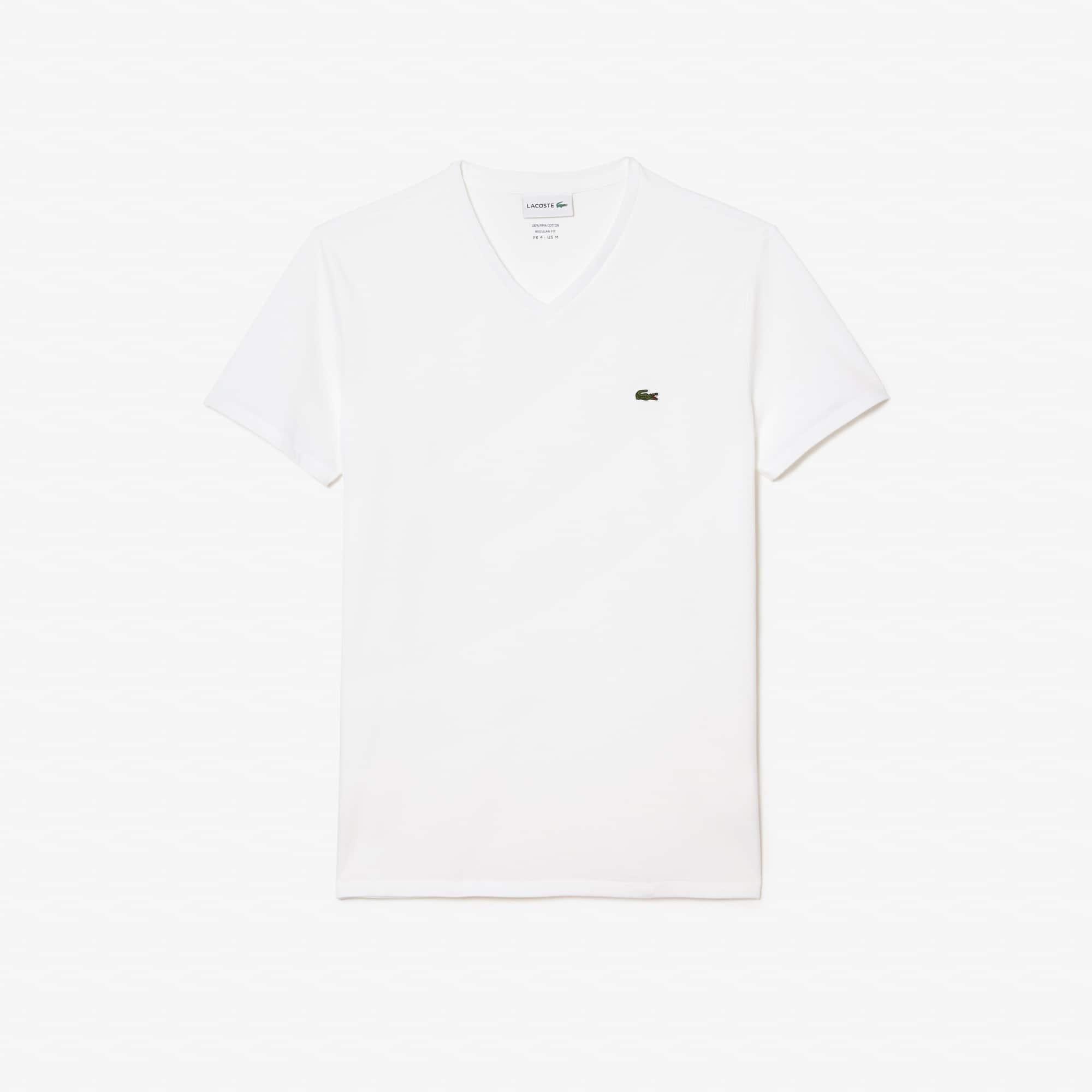 14371e114d Men's V-Neck Pima Cotton T-Shirt