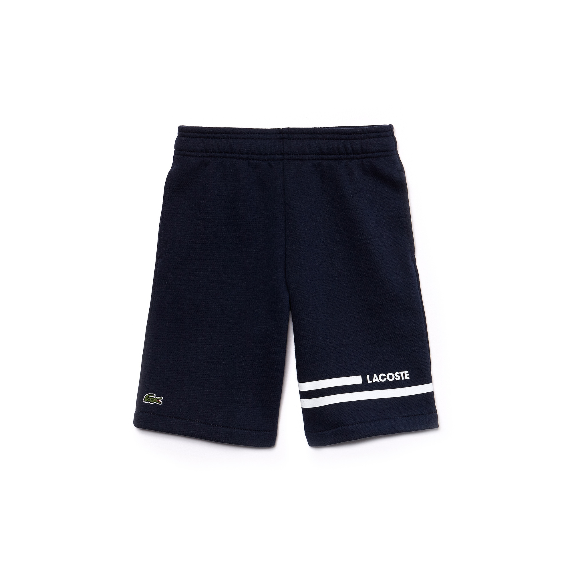 Boys' SPORT Contrast Bands Fleece Tennis Shorts