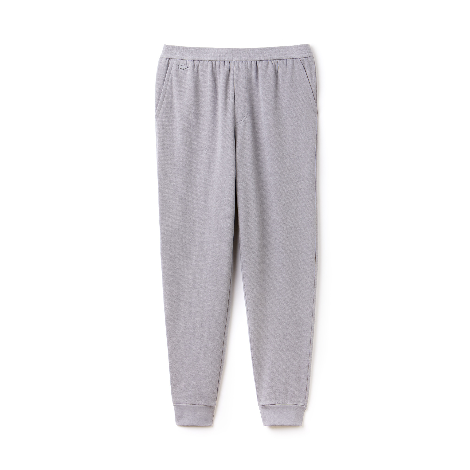 라코스테 스웻 팬츠 Lacoste Mens Motion Cotton And Wool Fleece Sweatpants,pluvier chine