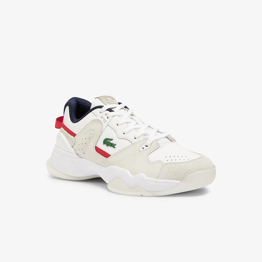 Women's T-Point Nubuck Leather Sneakers