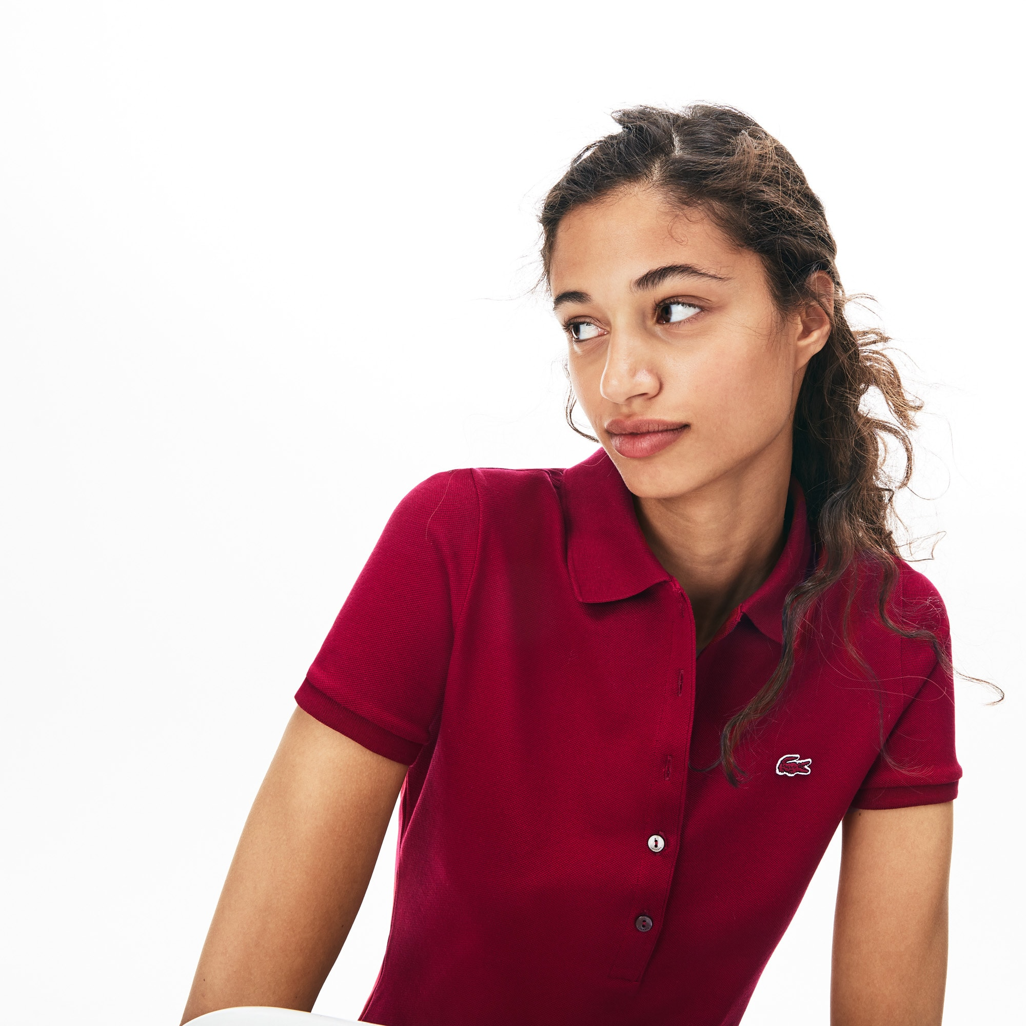 presenting closer at lace up in Women's Polo Shirts | Women's Fashion| LACOSTE