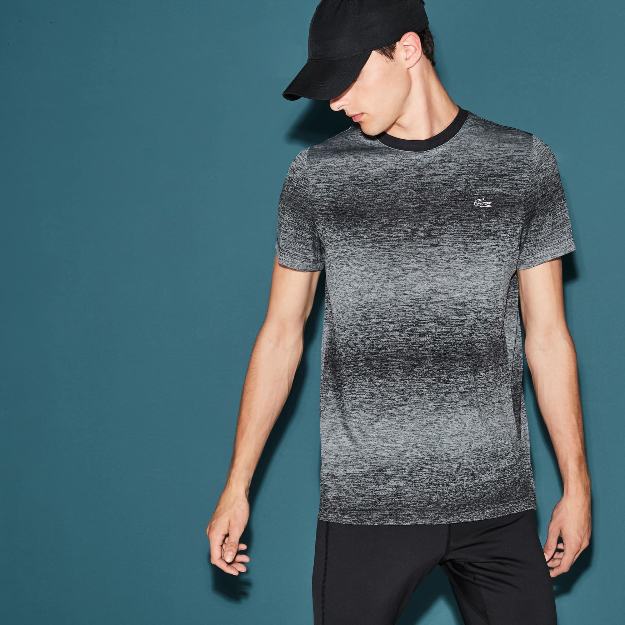 Men's  SPORT Tennis Crew Neck Tech Jersey & Mesh T-shirt