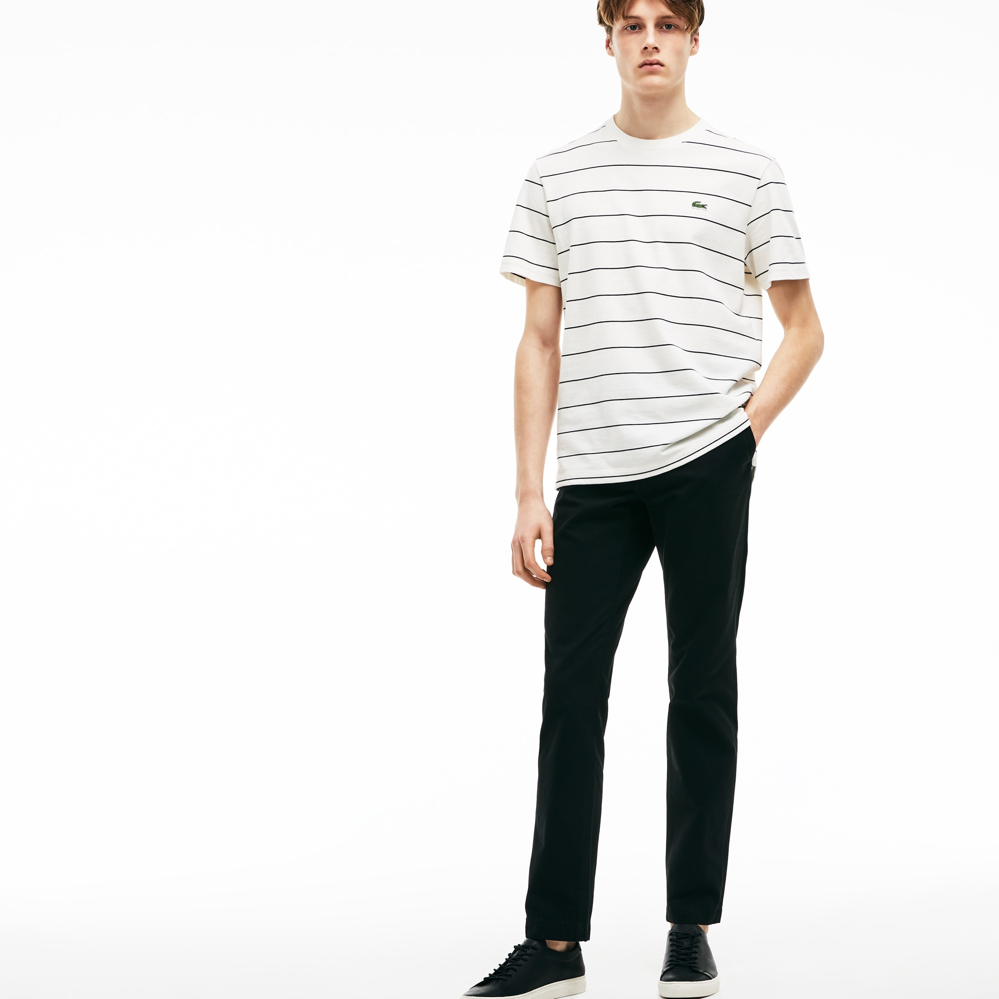 a74190fb9e Men'S Regular Fit Chino Pants in Black