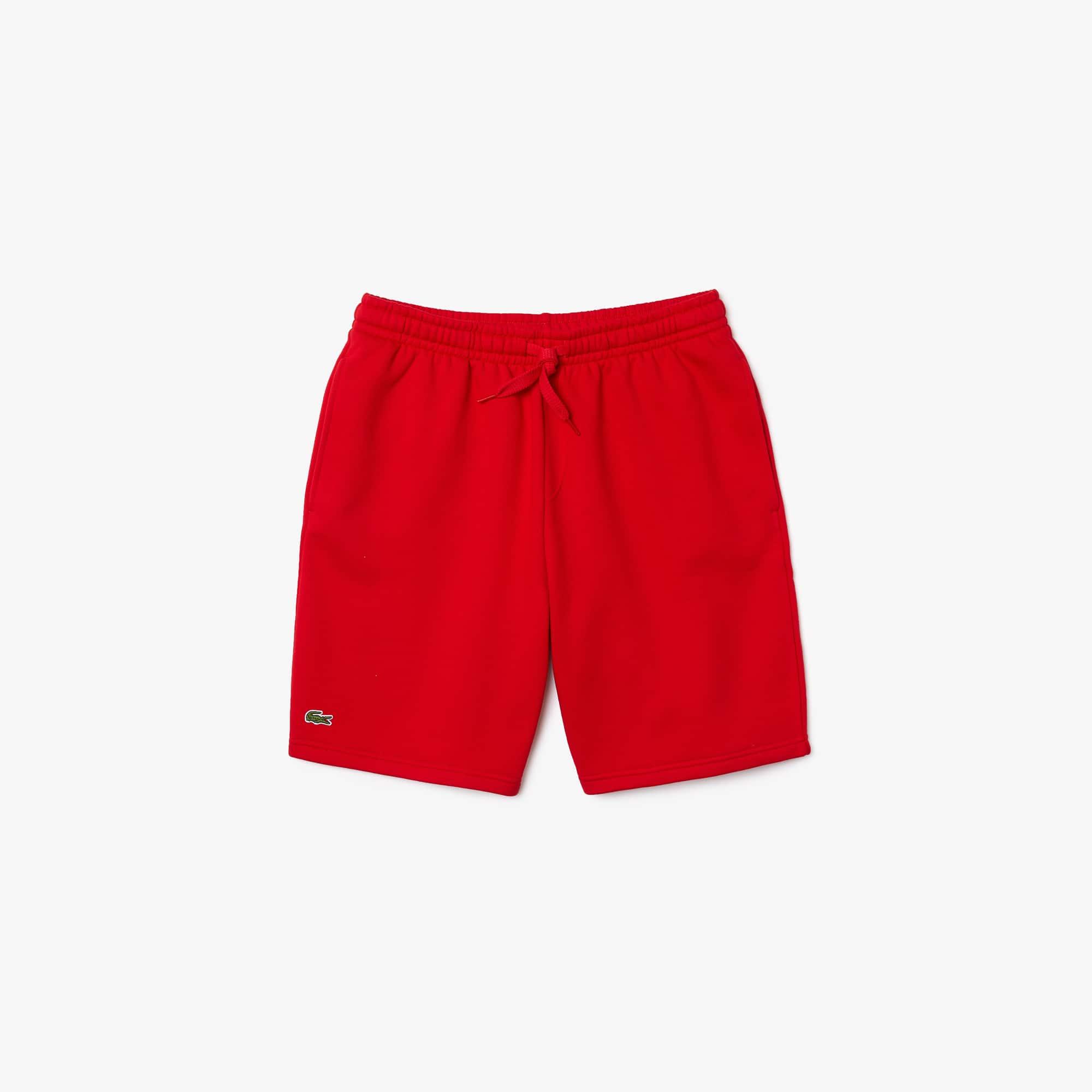 라코스테 스포츠 반바지 Lacoste Mens SPORT Tennis Fleece Shorts,red