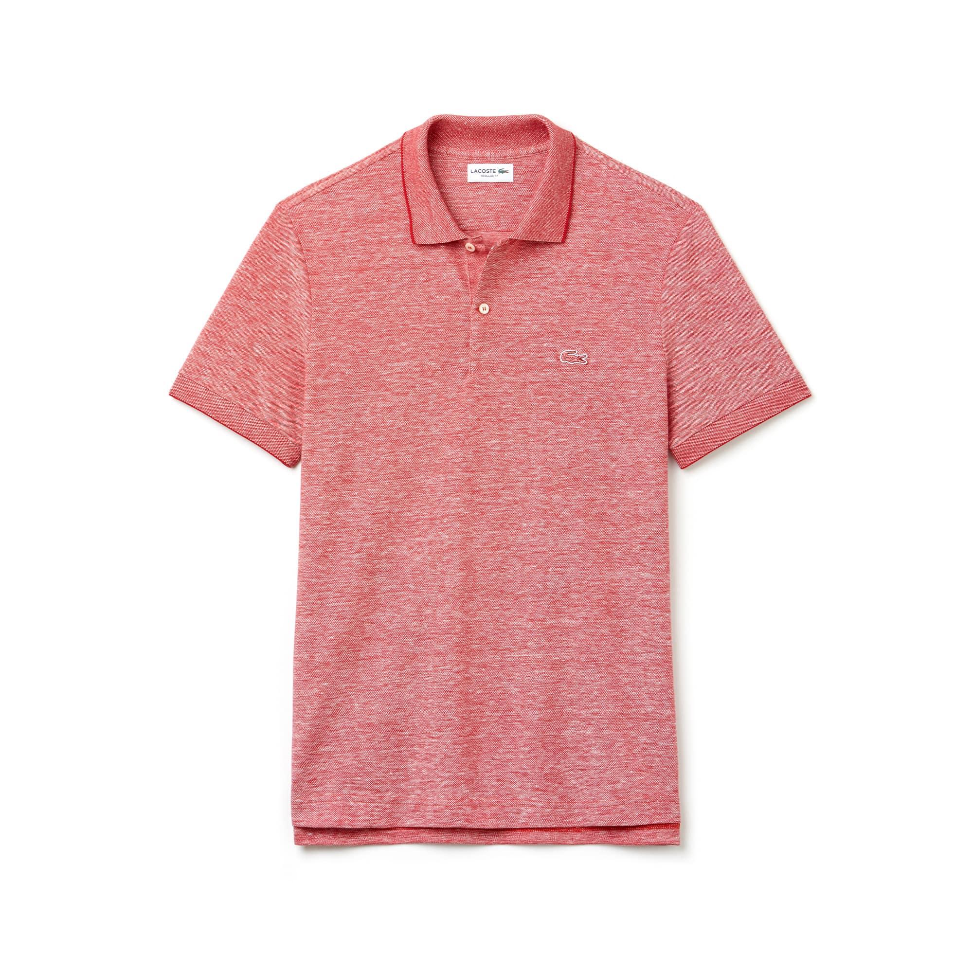Men's Regular Fit Caviar Piqué Polo Shirt
