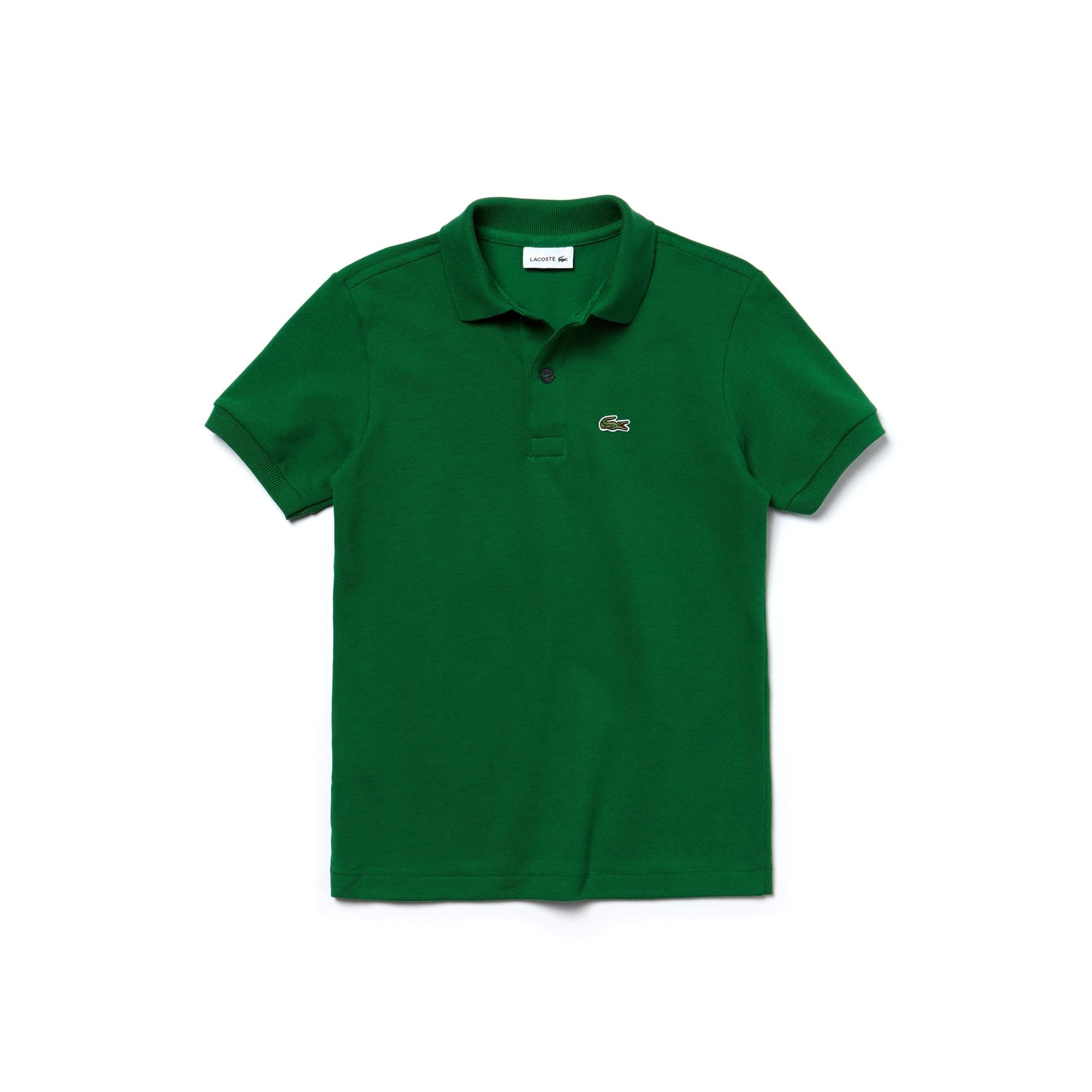 Boy's Lacoste Petit Piqué Polo