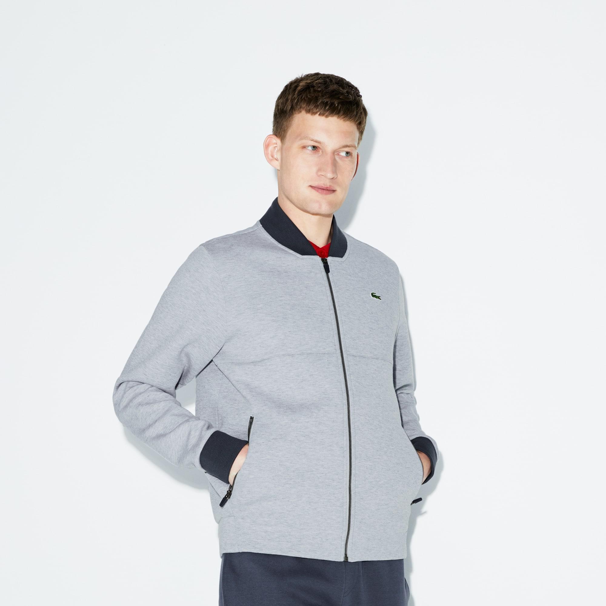 Men's SPORT Banana Neck Fleece Tennis Sweatshirt