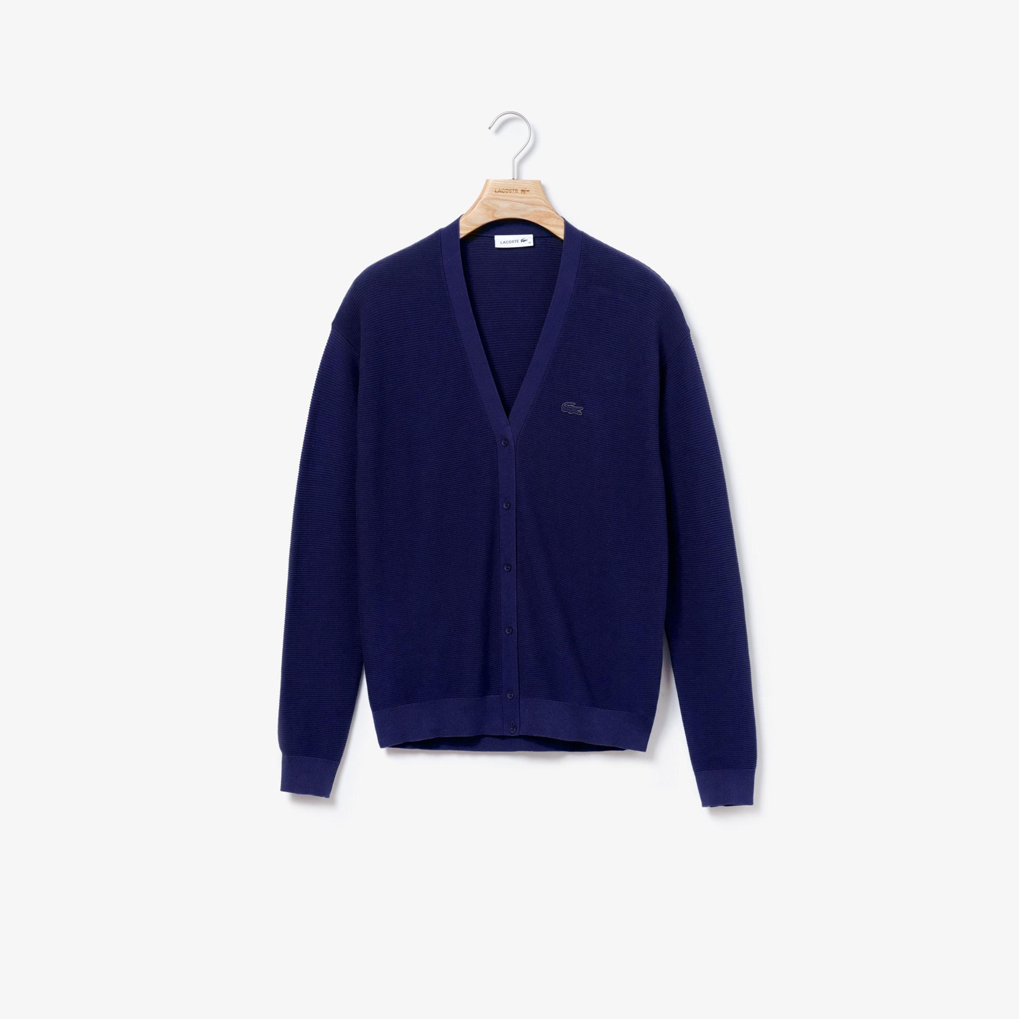 Women's Cotton Jersey Cardigan