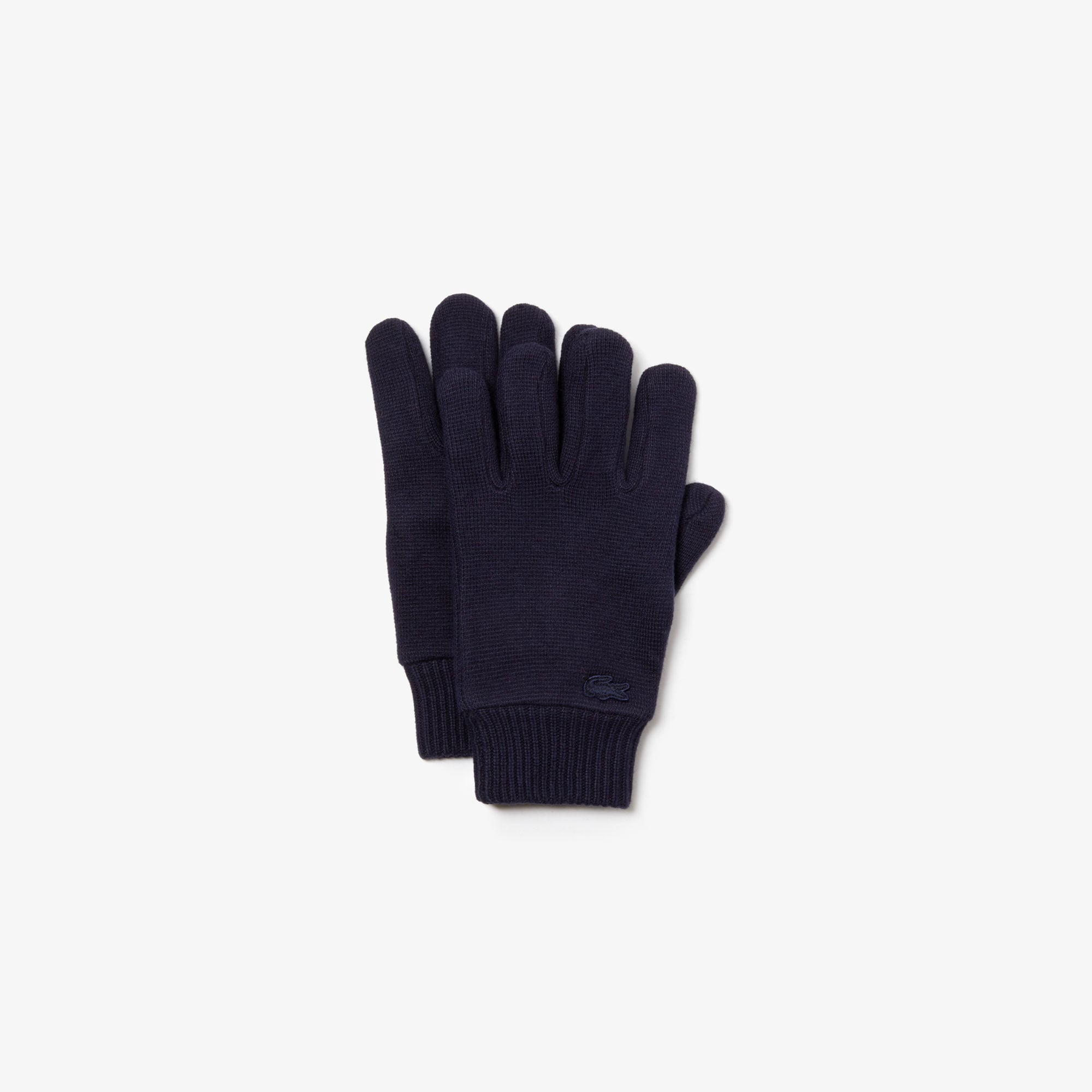 Men's Cotton And Cashmere Knit Gloves