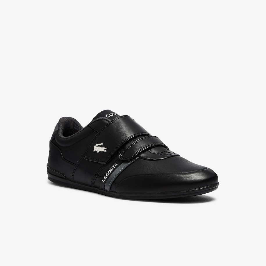 Men's Misano Strap Leather and Synthetic Sneakers