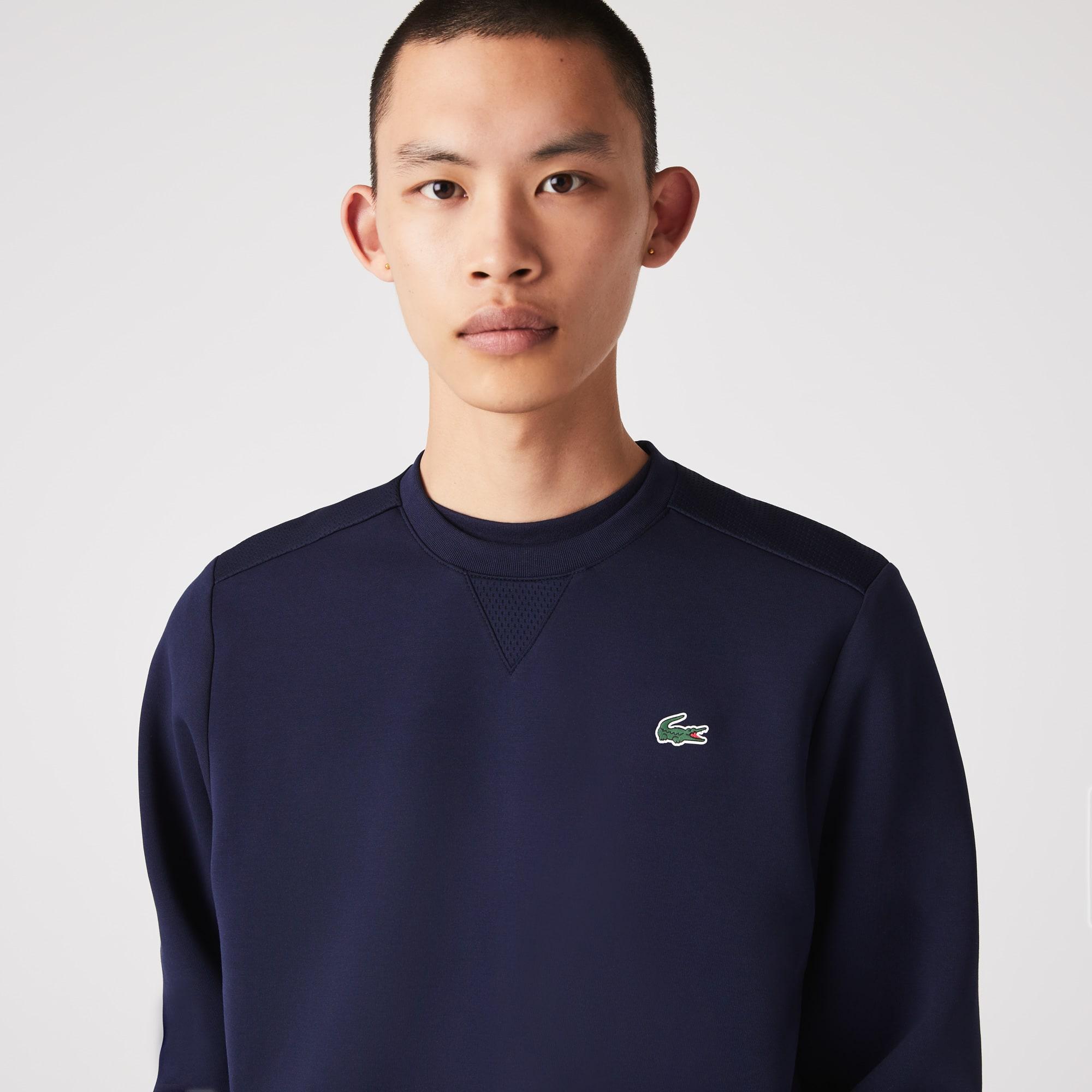 라코스테 맨 스포츠 맨투맨 Lacoste Men's SPORT Mesh Panels Sweatshirt