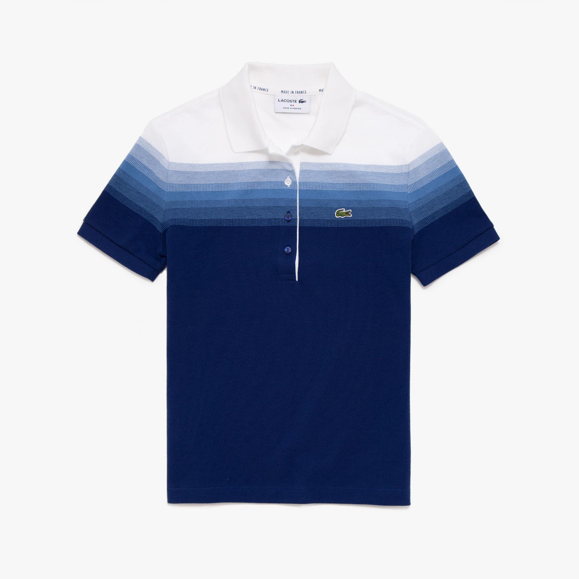 라코스테 '메이드 인 프랑스' 피케 폴로 셔츠 Lacoste Womens Made in France Organic Cotton Pique Polo Shirt