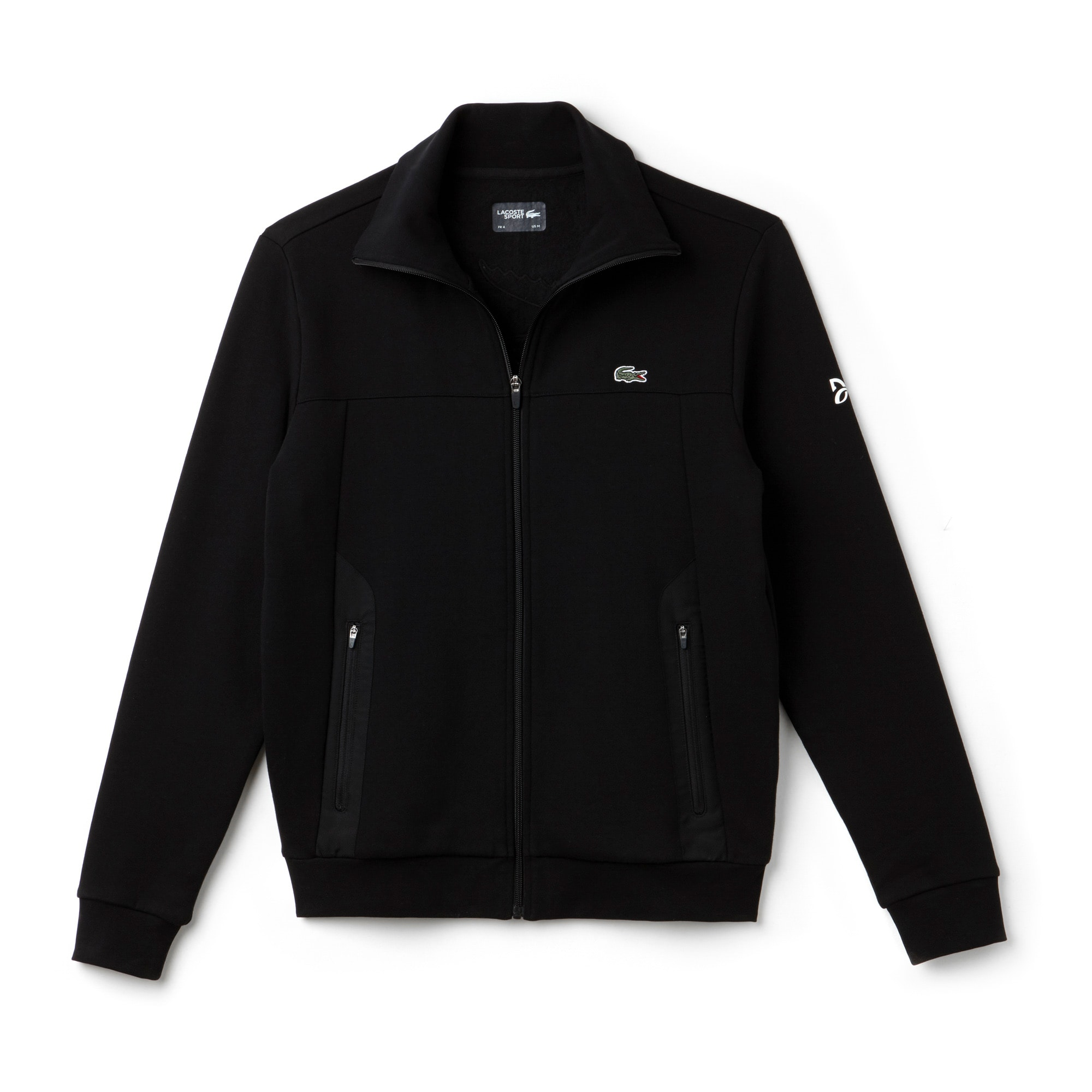 Men's SPORT Tennis Zippered Fleece Sweatshirt - Novak Djokovic Supporter Collection
