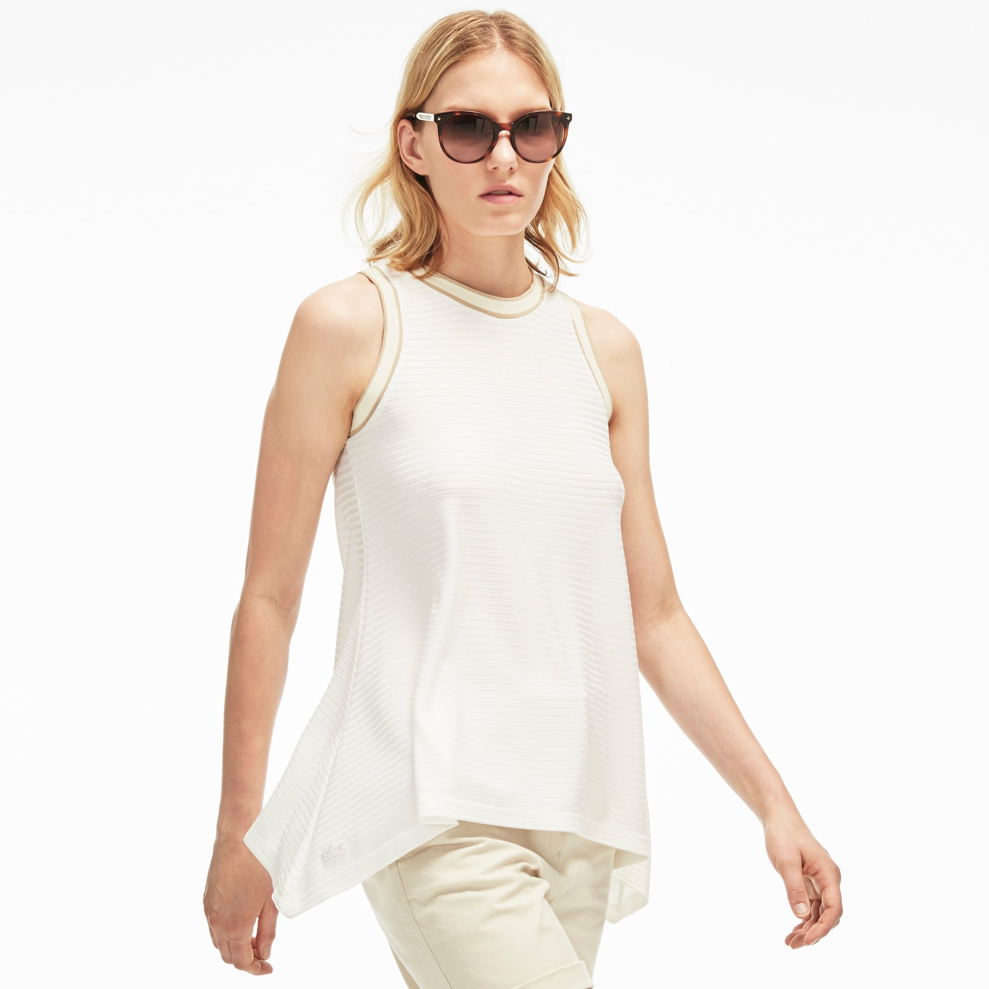 Women's Flat Rib Flared Top