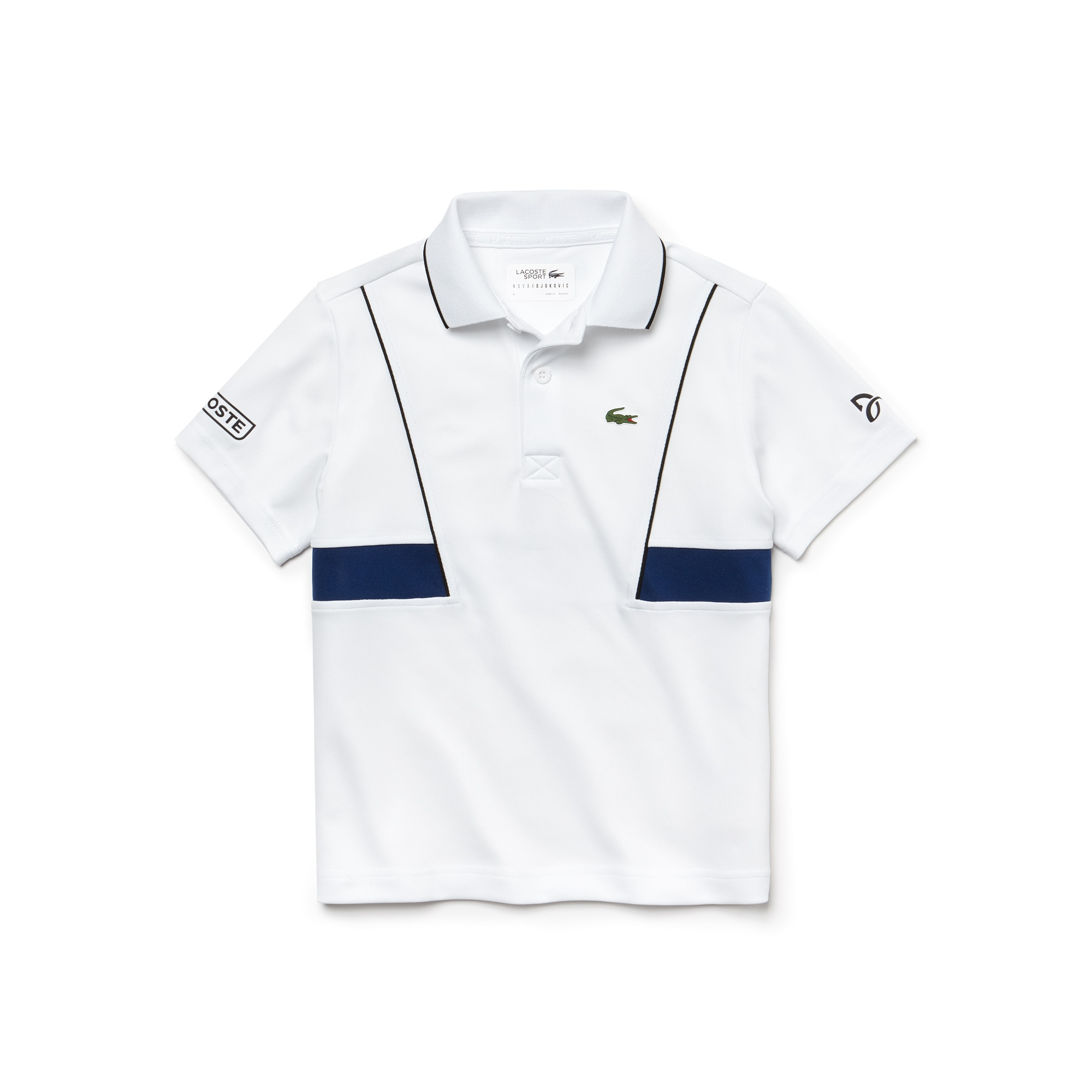 Boys' SPORT Technical Piqué Polo - Novak Djokovic Collection