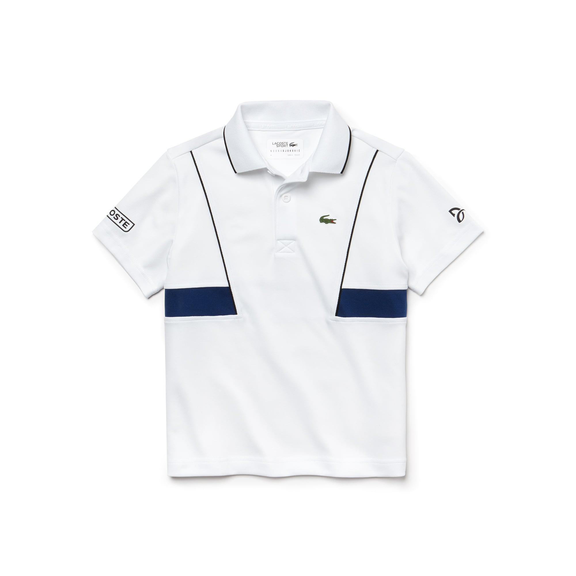 Boys' SPORT Technical Piqué Polo - x Novak Djokovic