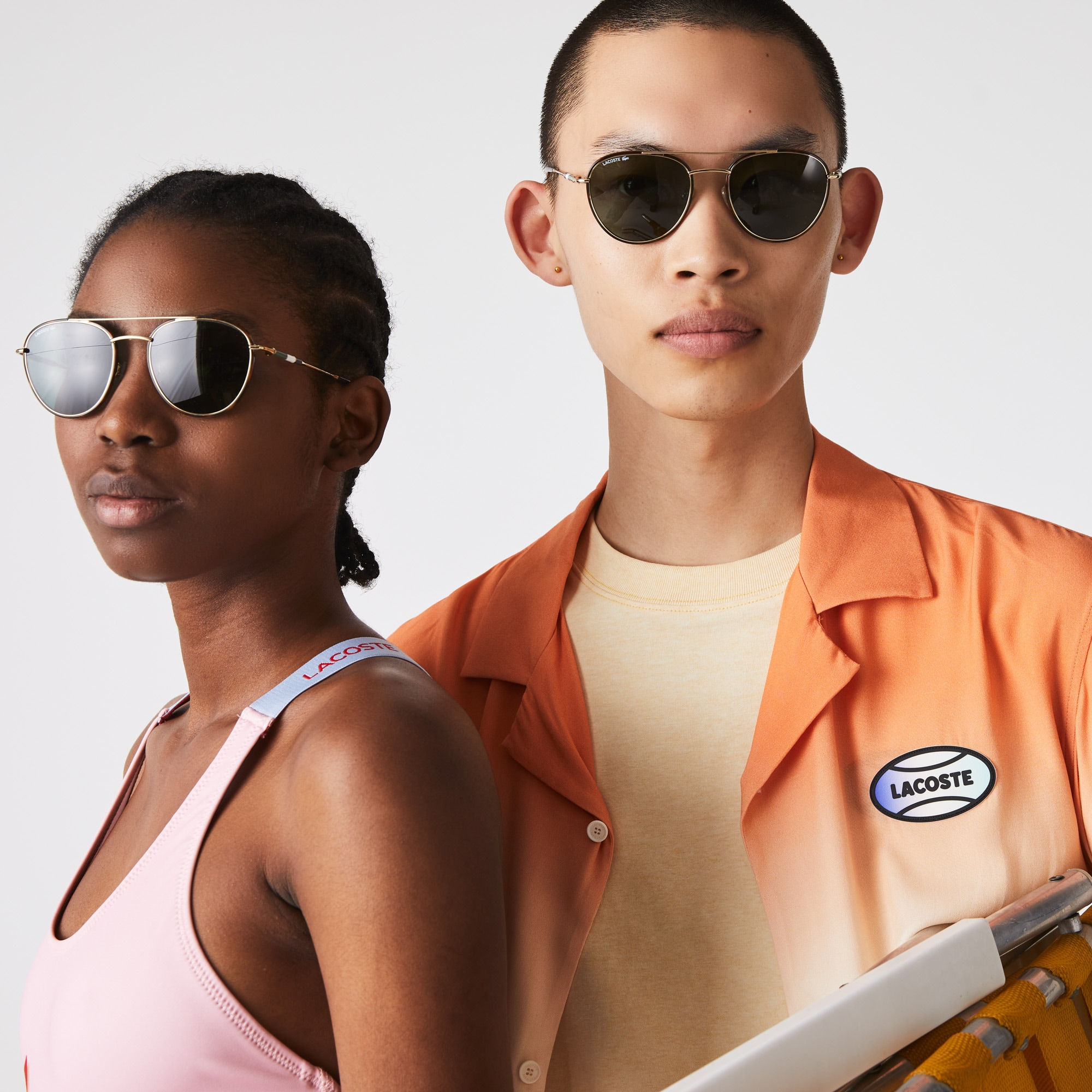Oval Metal Novak Djokovic Collection Sunglasses