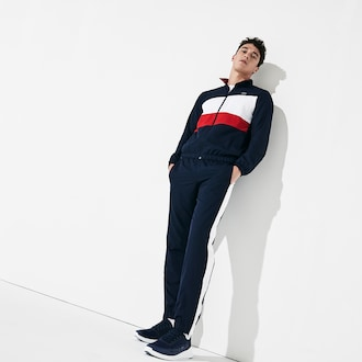 라코스테 스포츠 트랙 수트 Lacoste Mens SPORT Color-Blocked Track Suit