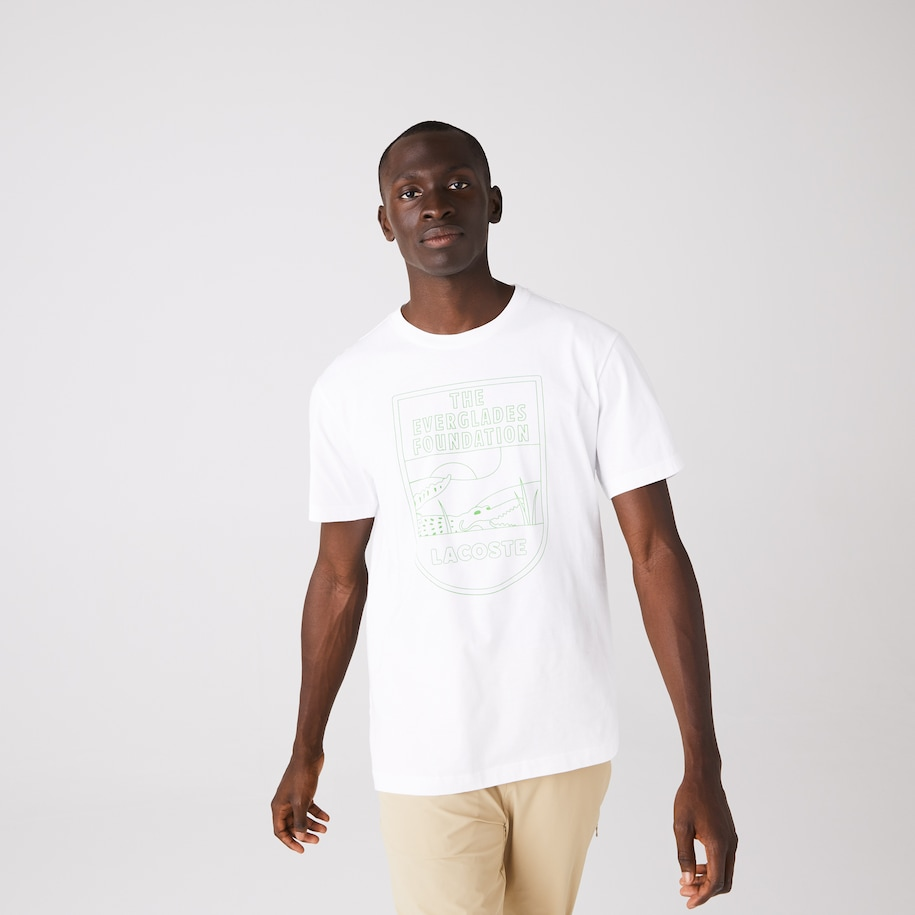 Men's Lacoste & The Everglades Foundation Co-Branded T-Shirt