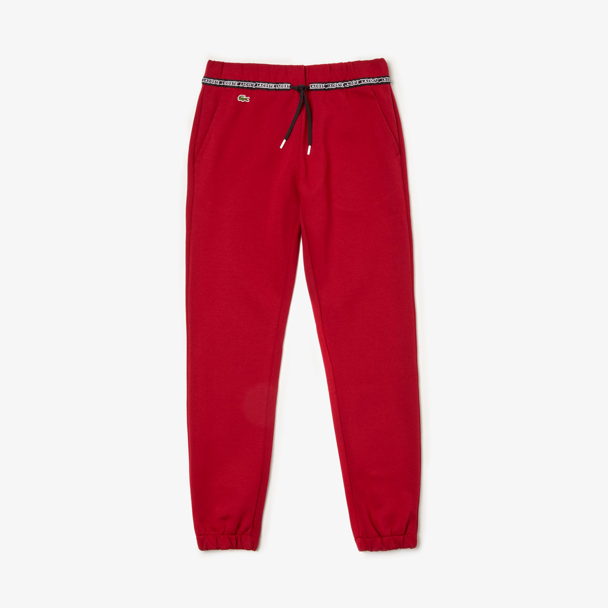 Lacoste Pants Women's SPORT Signature Waistband Fleece Sweatpants
