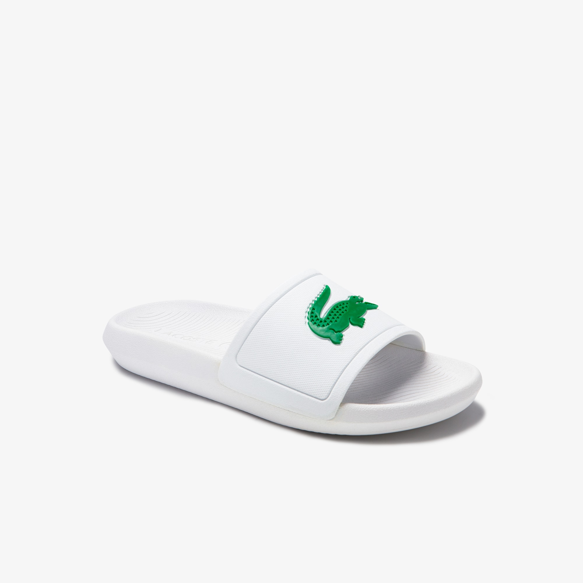 Women's Croco Rubber Slides