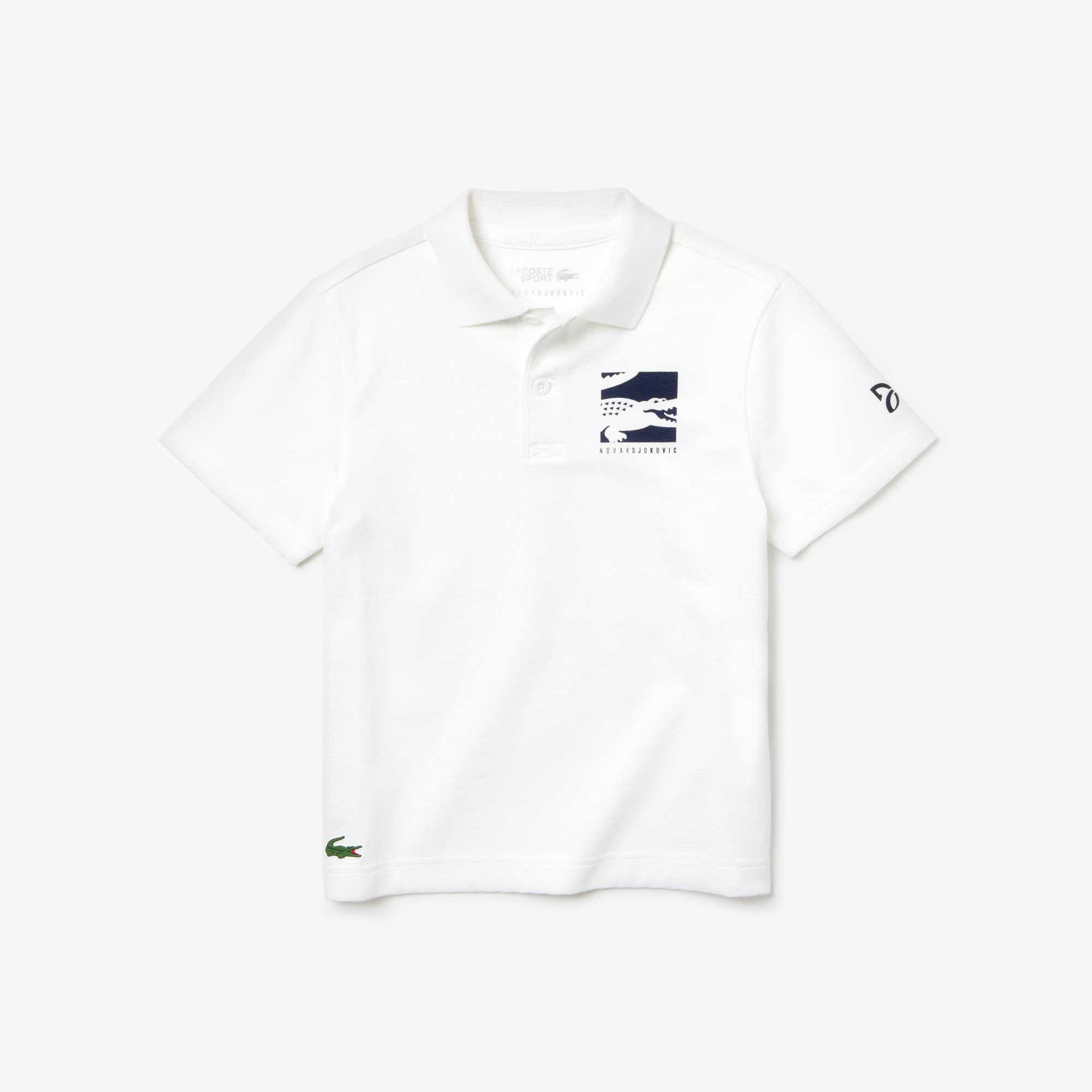 라코스테 Lacoste Boys SPORT Novak Djokovic Cotton Polo
