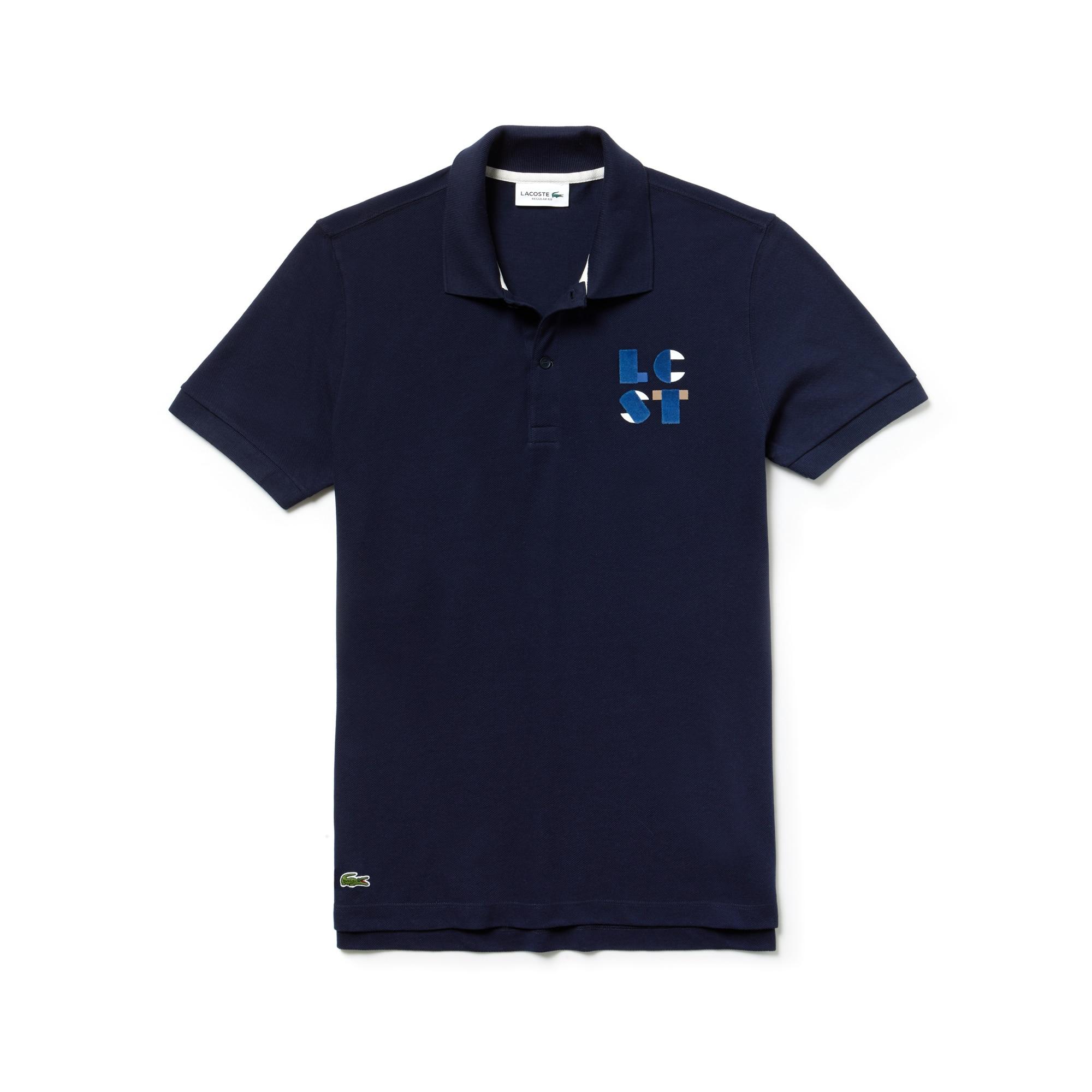 Men's Regular Fit Petit Piqué Polo