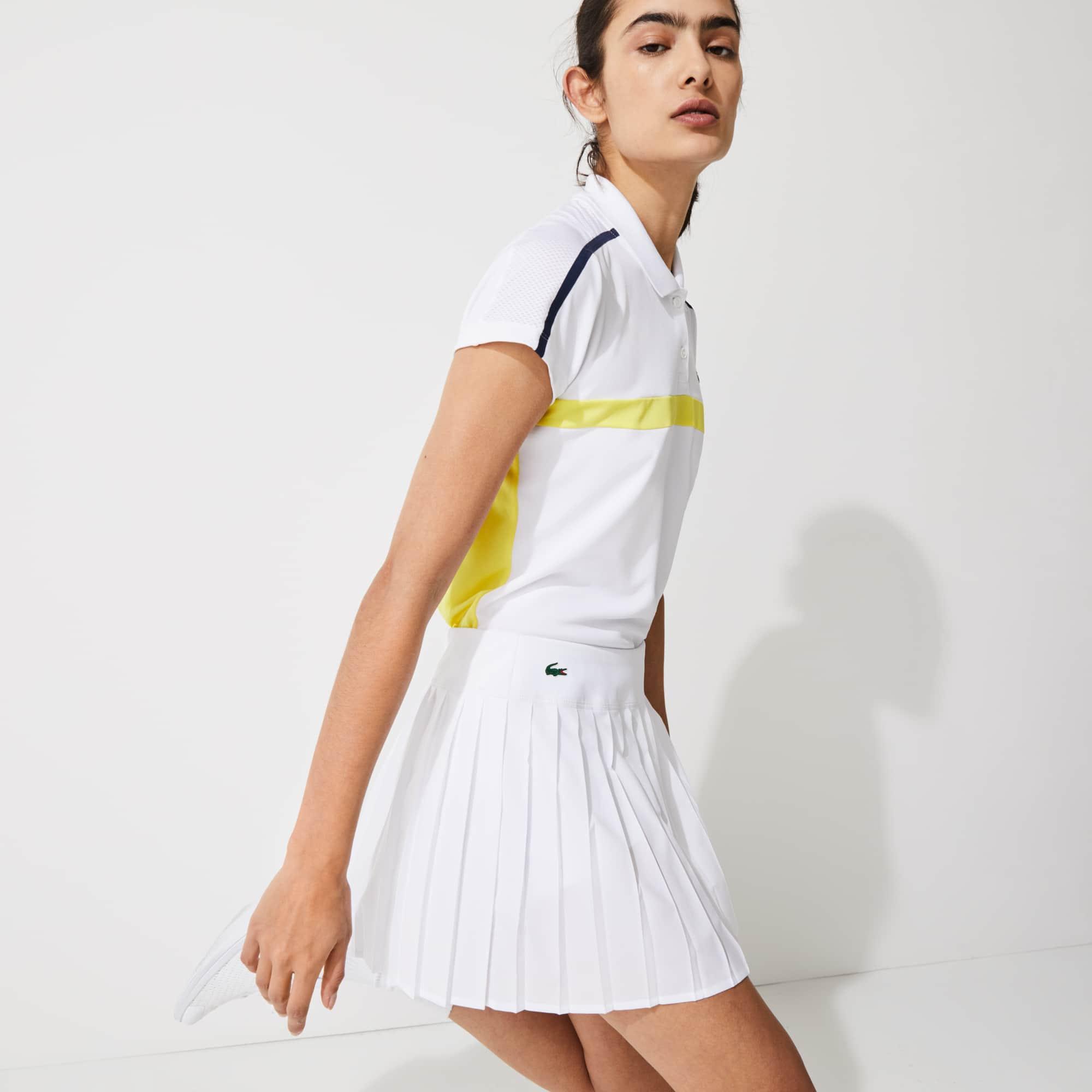 Lacoste Women's SPORT Ultra Dry Pleated Tennis Skirt