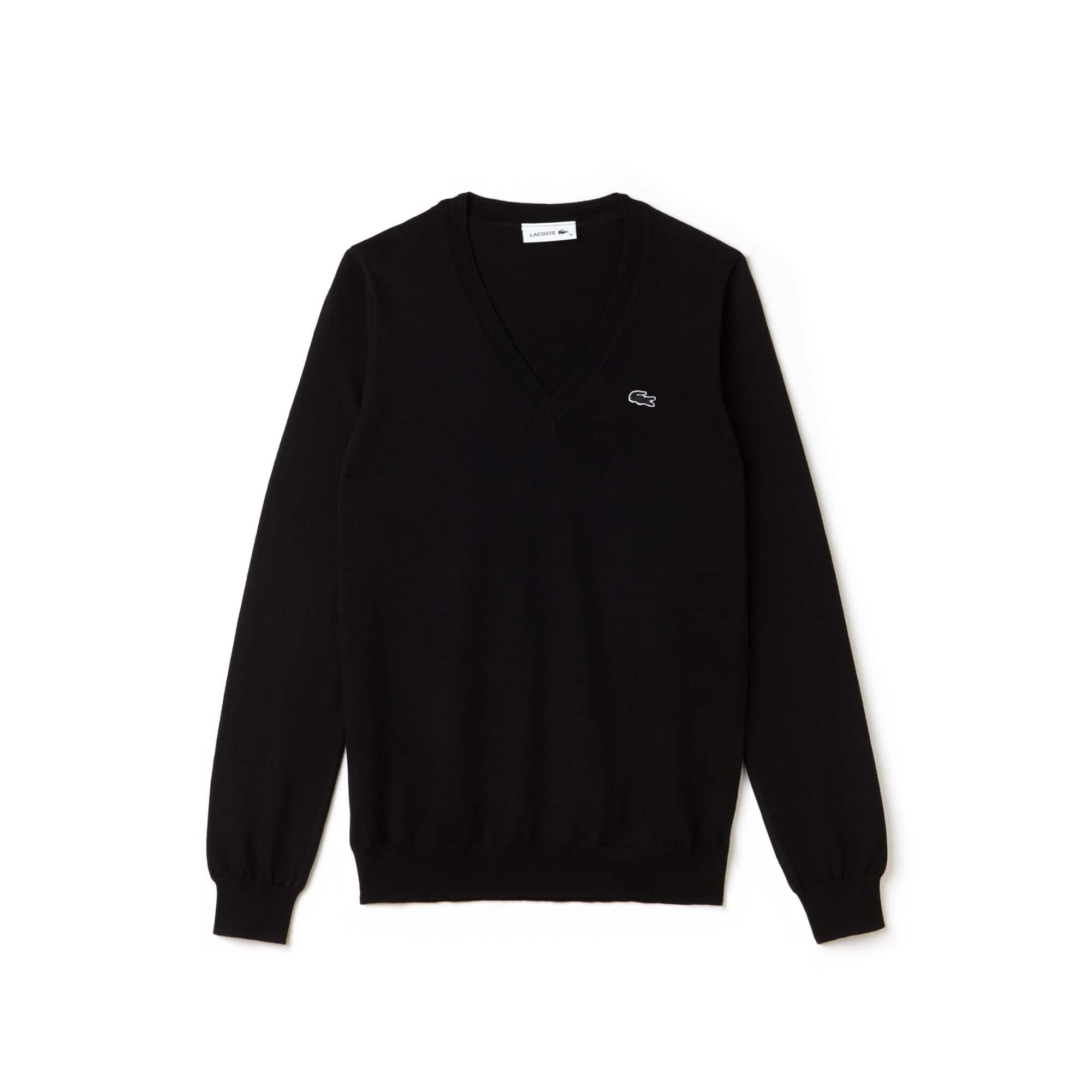 c3298f149 Women s V-neck Jersey Sweater