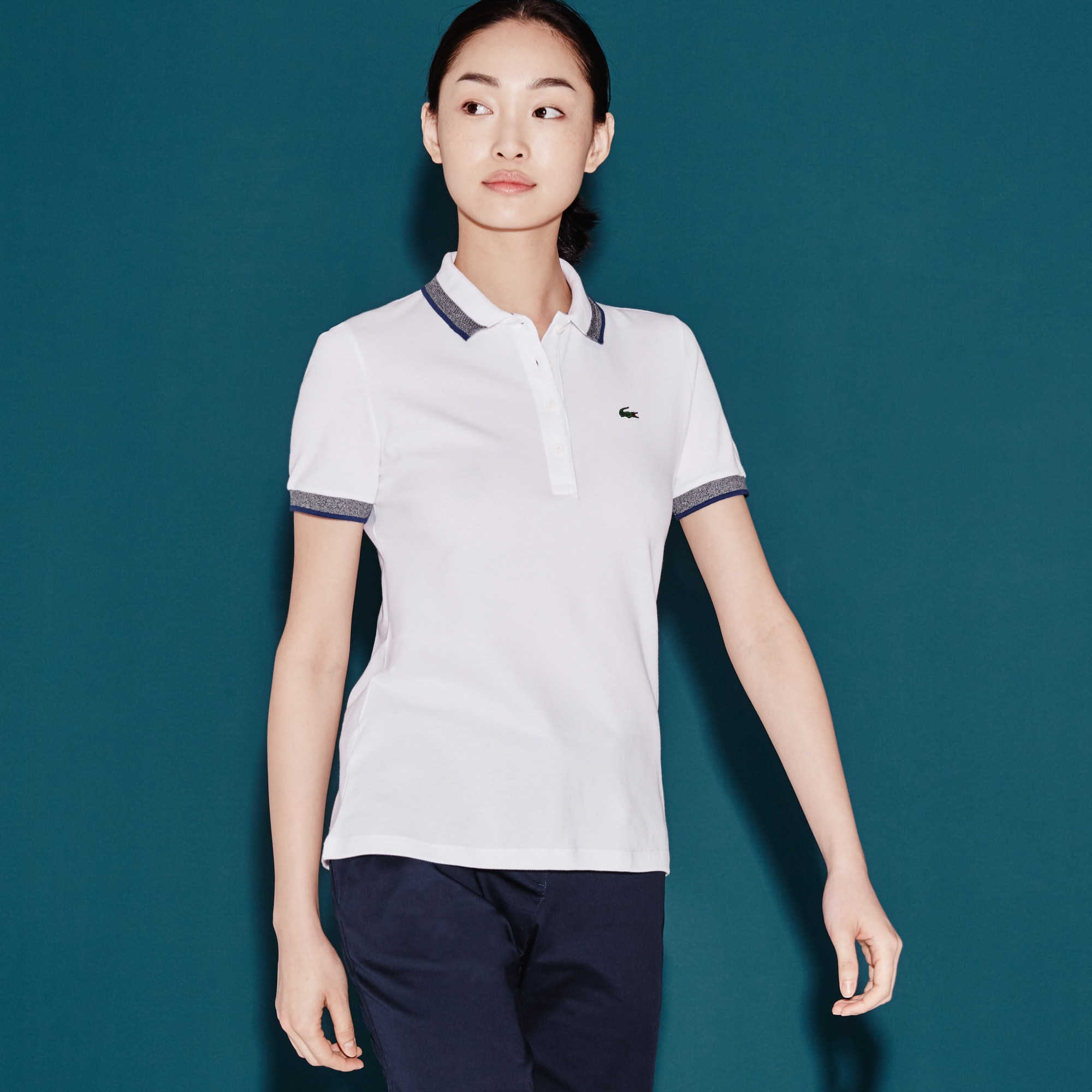Polo shirts for women lacoste women 39 s polo shirts lacoste for Woman s polo shirts