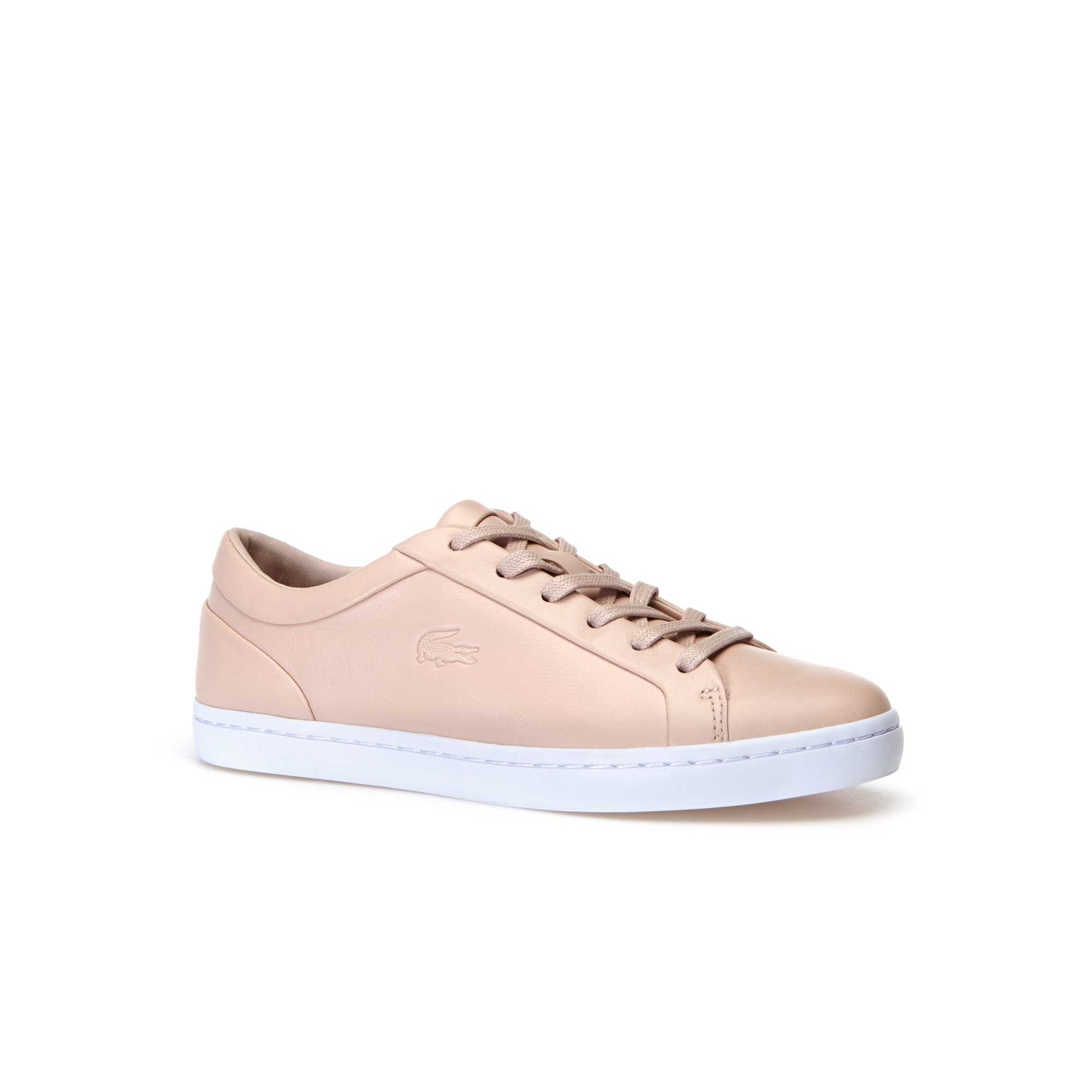 Women's Straightset Low-Rise Monochrome Leather trainers