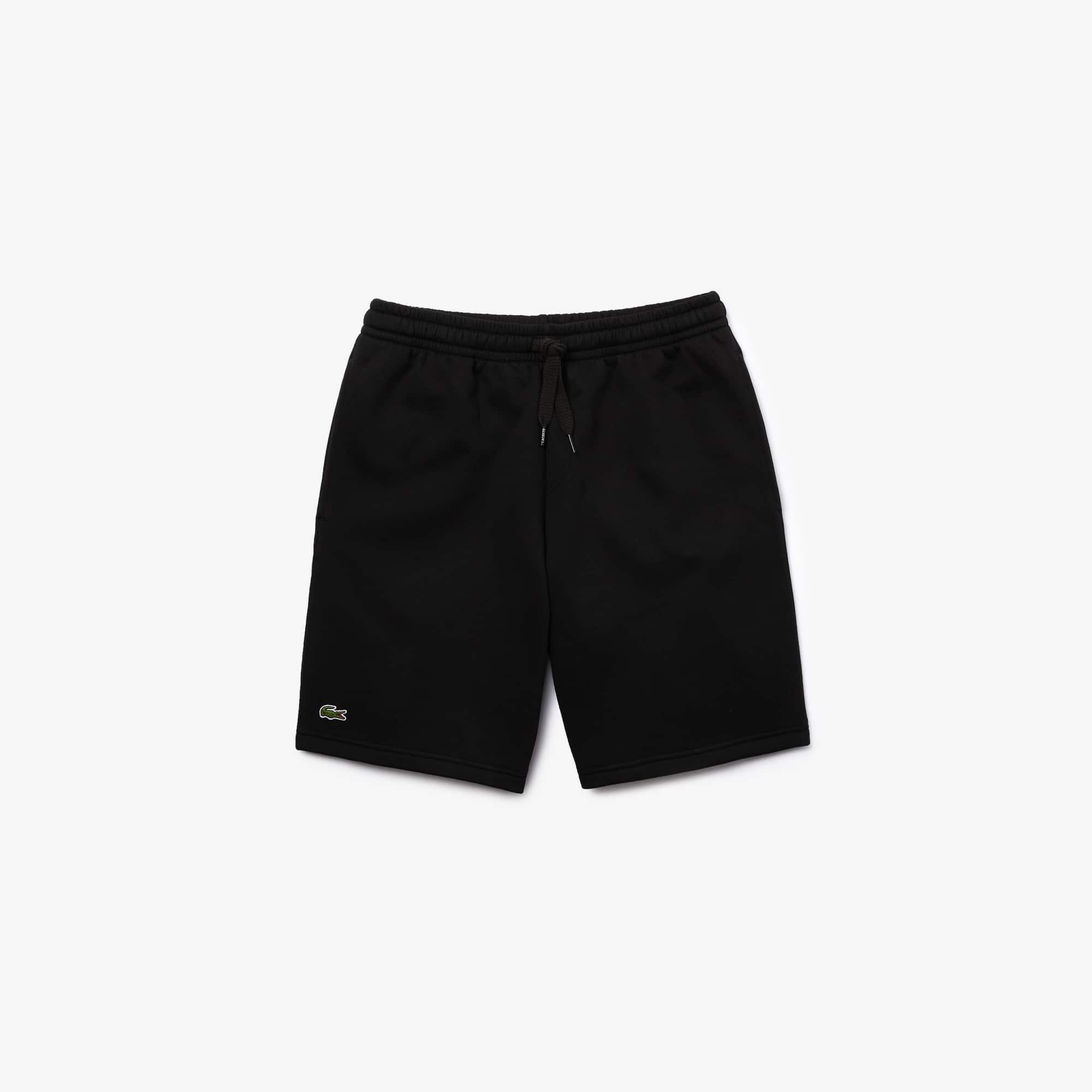 라코스테 스포츠 반바지 Lacoste Mens SPORT Tennis Fleece Shorts,black