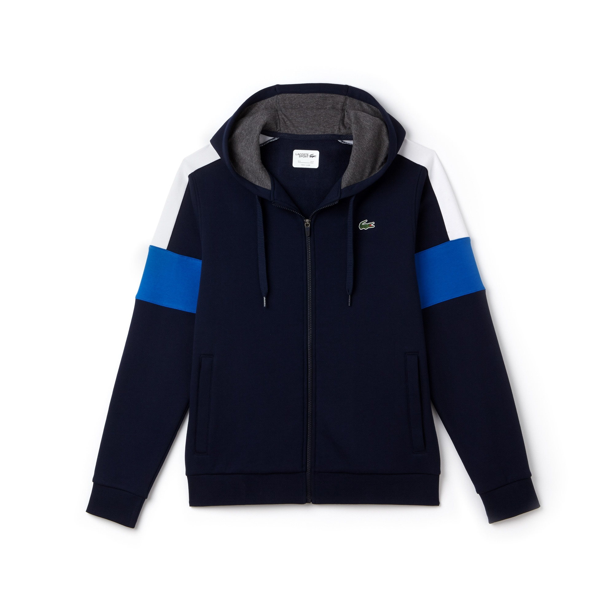 Men's SPORT Colorblock Fleece Zippered Tennis Sweatshirt