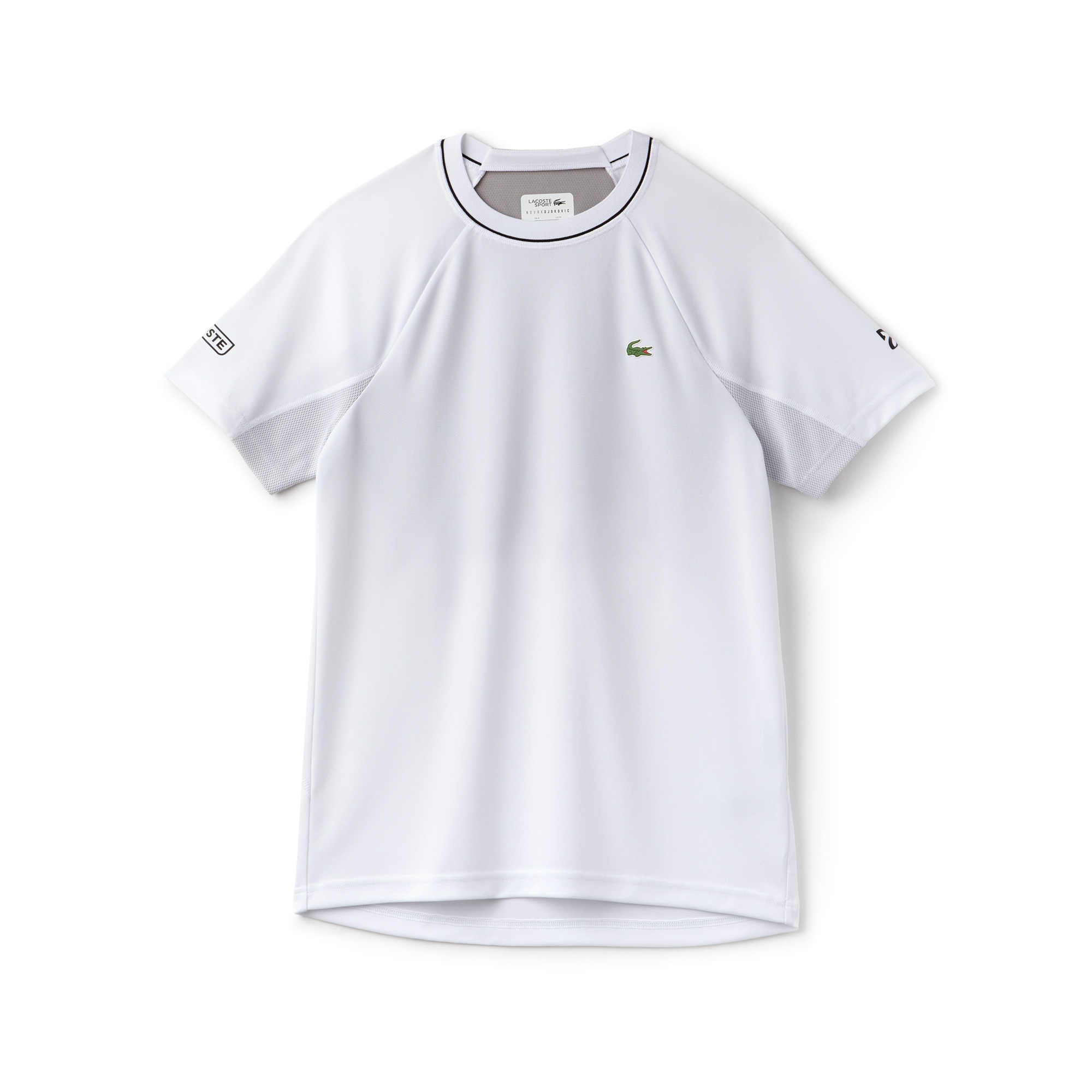 Men's SPORT Tech Piqué And Mesh T-Shirt - Novak Djokovic Supporter Collection