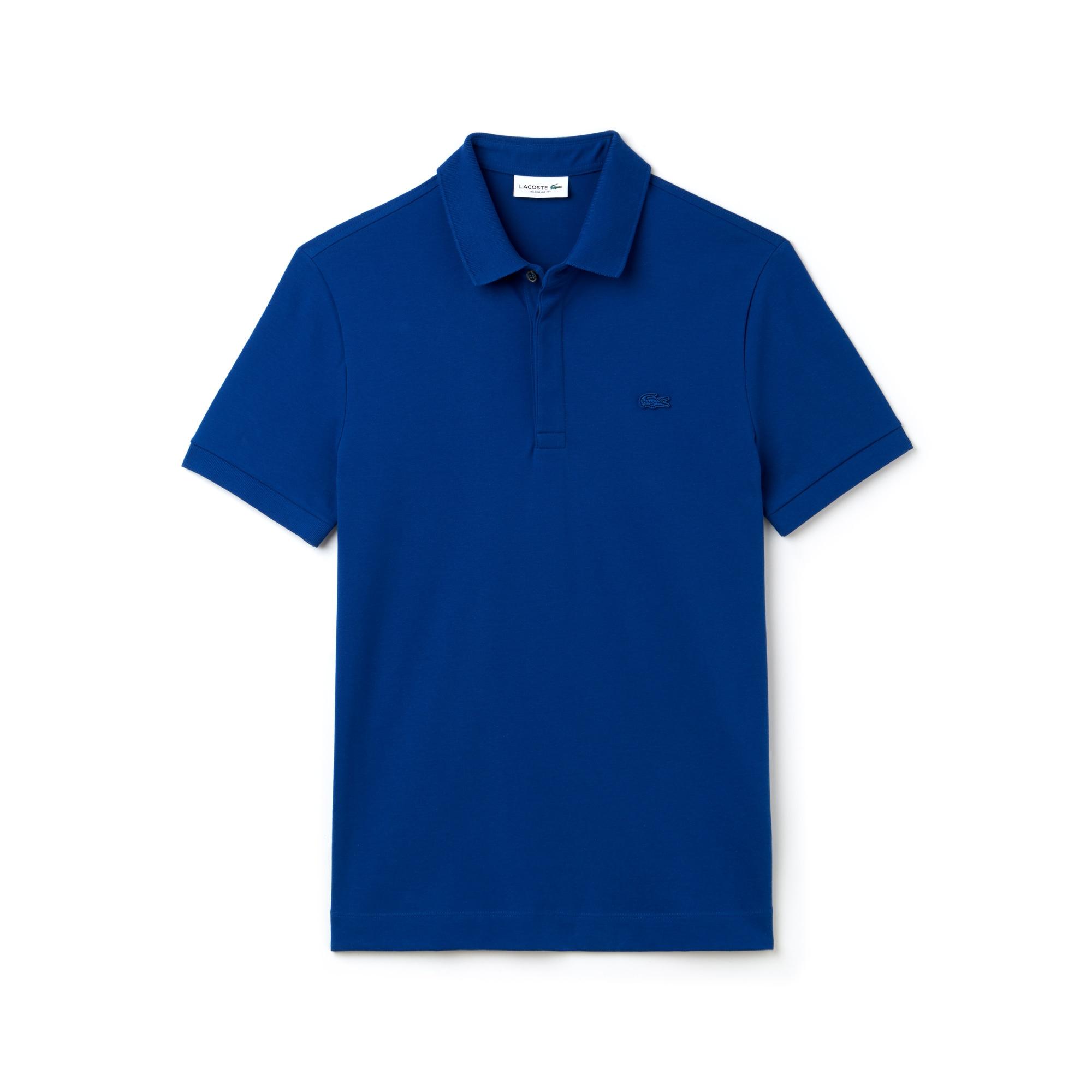 Men's Paris Edition Regular Fit Stretch Piqué Polo