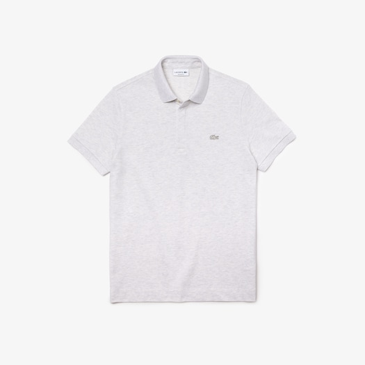 라코스테 Lacoste Mens Paris Polo,Grey Chine - HT1 (Selected colour)