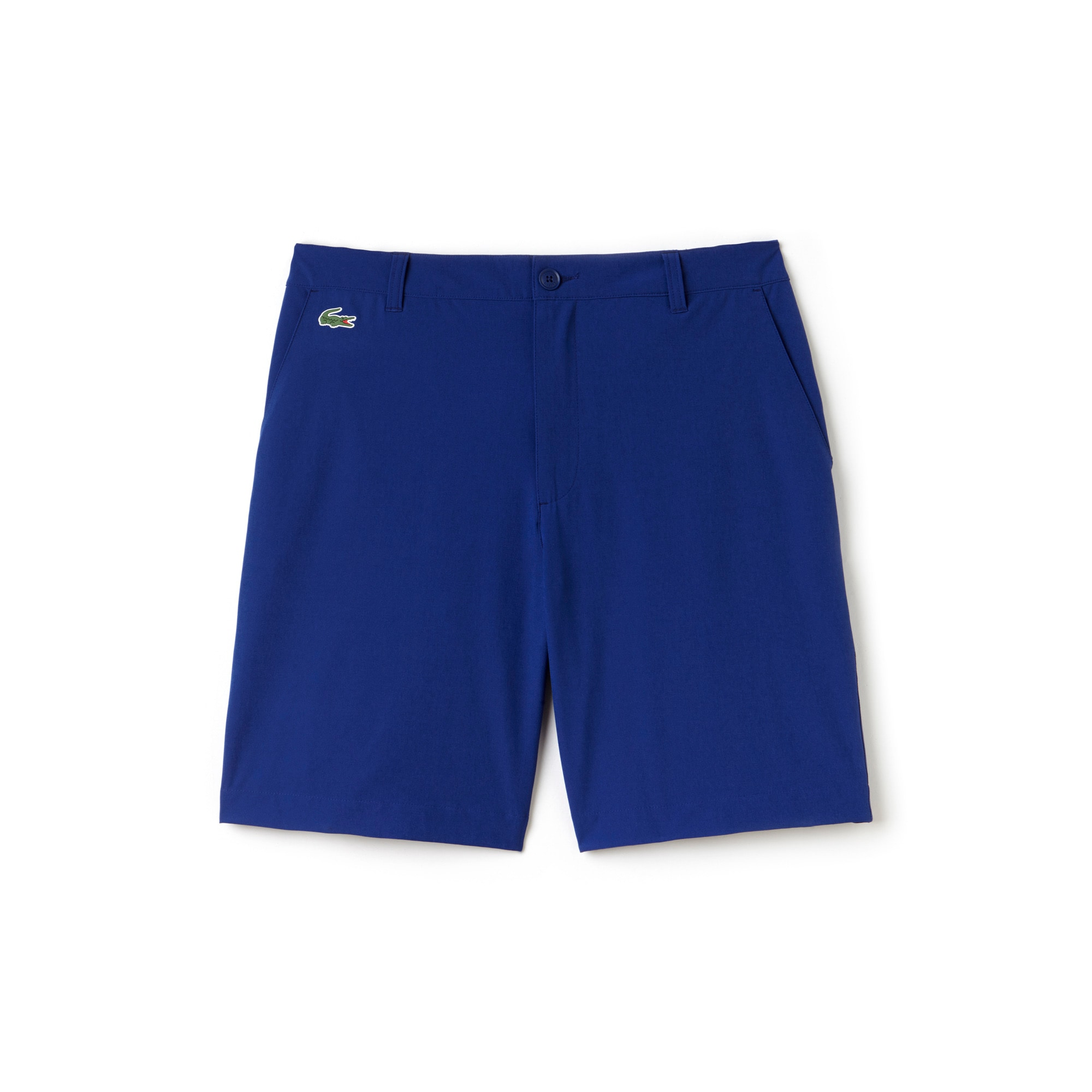 라코스테 Lacoste Mens SPORT Golf Stretch Bermudas,varsity blue