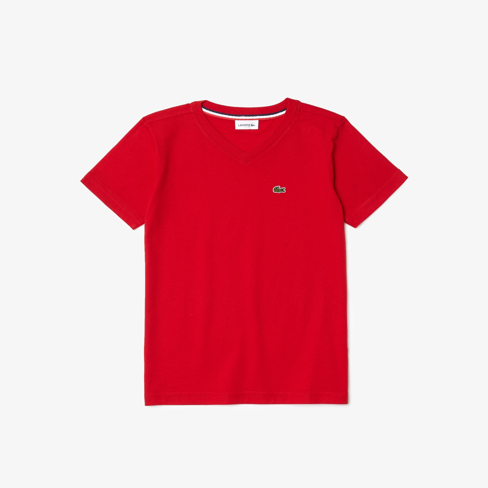 Boys' V-neck Cotton Jersey T-shirt