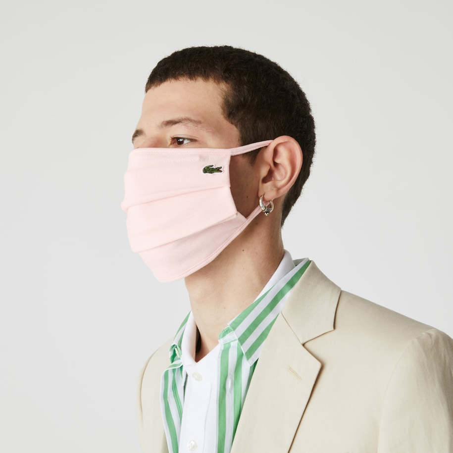L.12.12 Face Protection Mask in Cotton Piqué