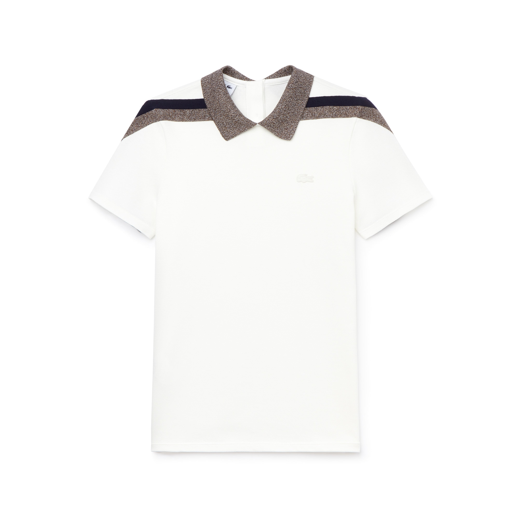 Women's Made In France Tricolor Caviar Piqué Polo