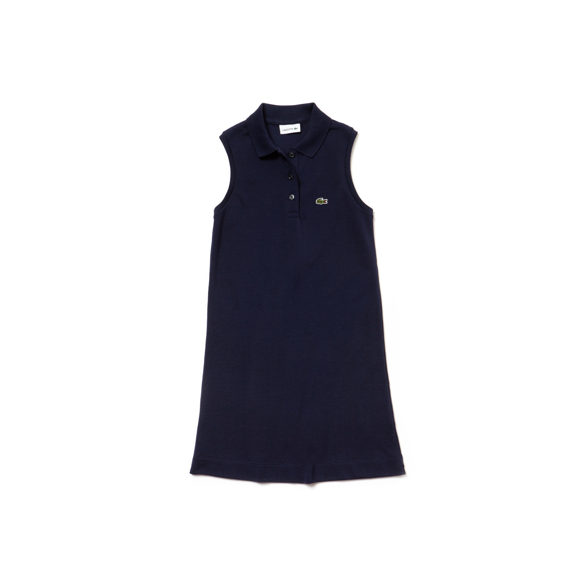 Girls' Petit Piqué Polo Dress