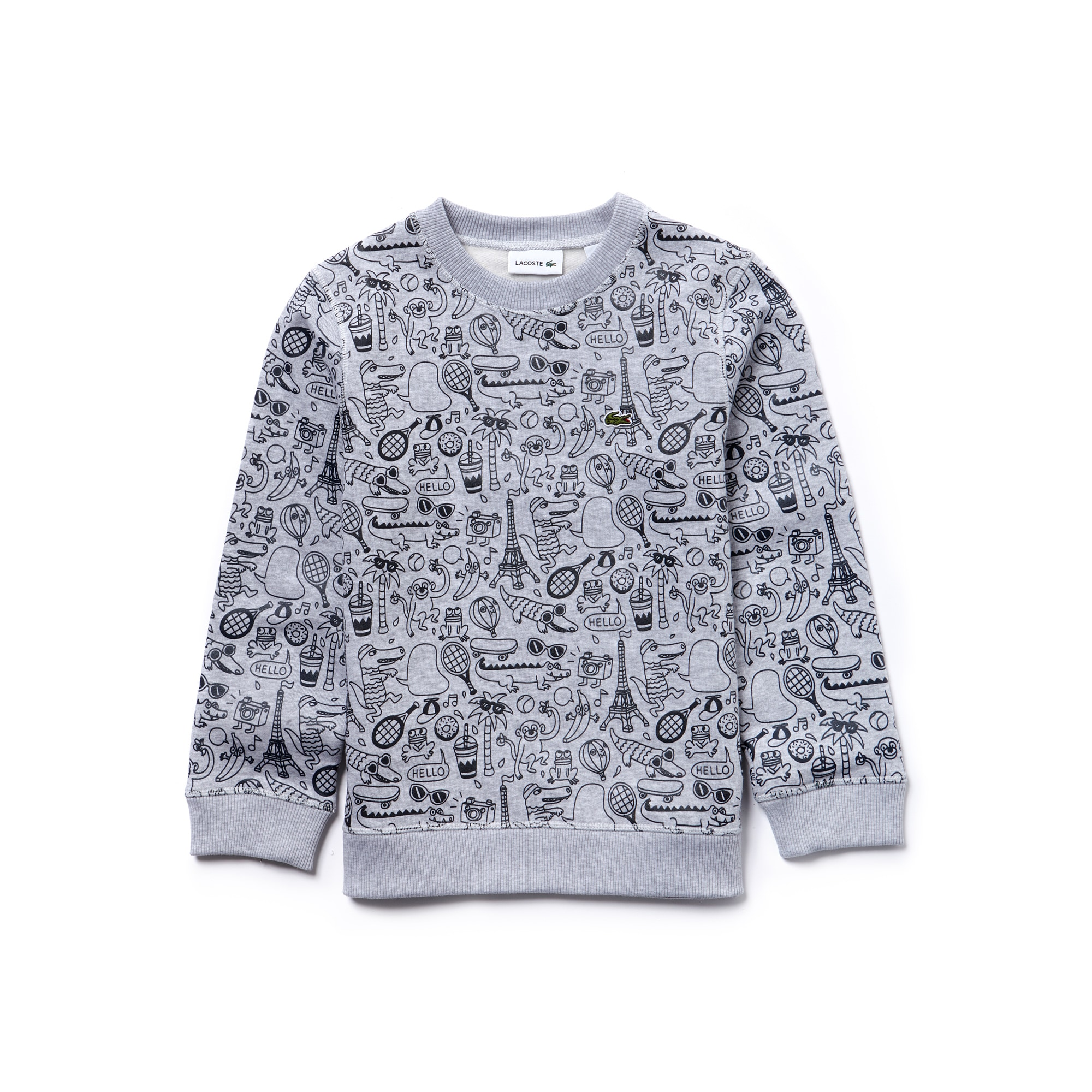 Boys' OMY Edition Crew Neck Printed Fleece Sweatshirt