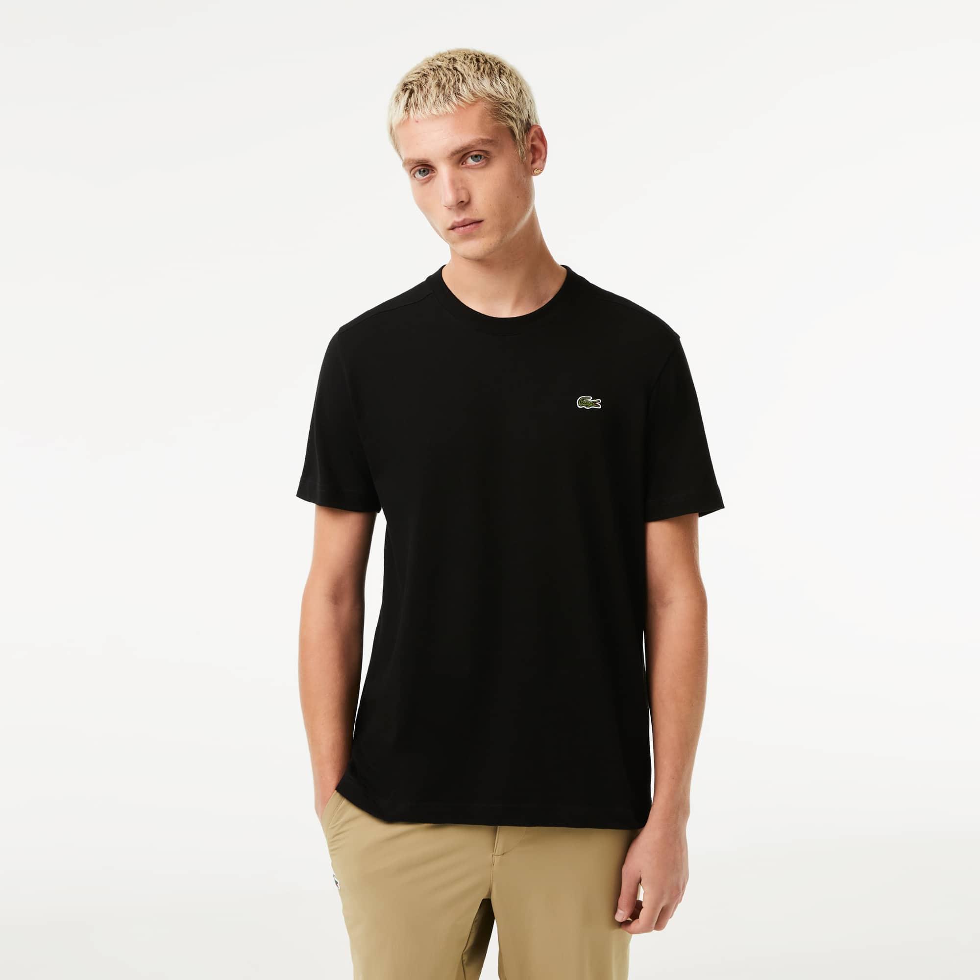 Men's SPORT Crew Neck Technical Cotton Tennis T-Shirt
