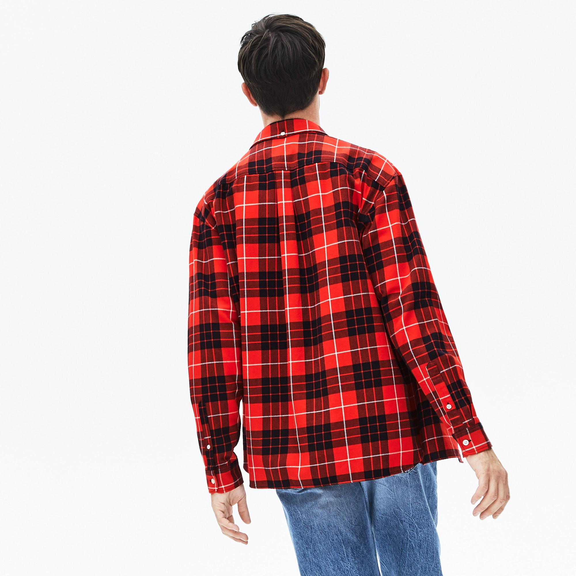 Men's LIVE Boxy Fit Check Flannel Shirt