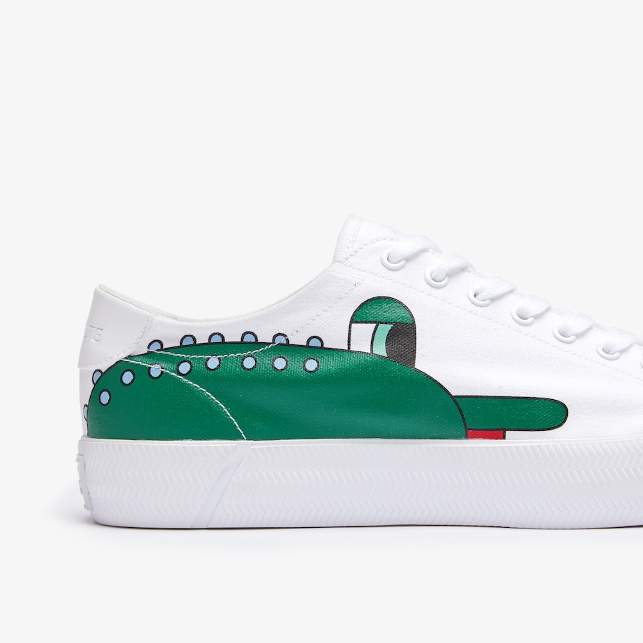 Lacoste x Jeremyville Men's Gripshot Canvas Trainers
