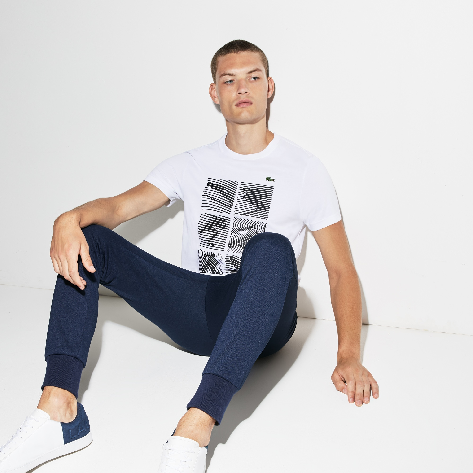 Olympic Heritage Collection by Lacoste Jersey T-shirt
