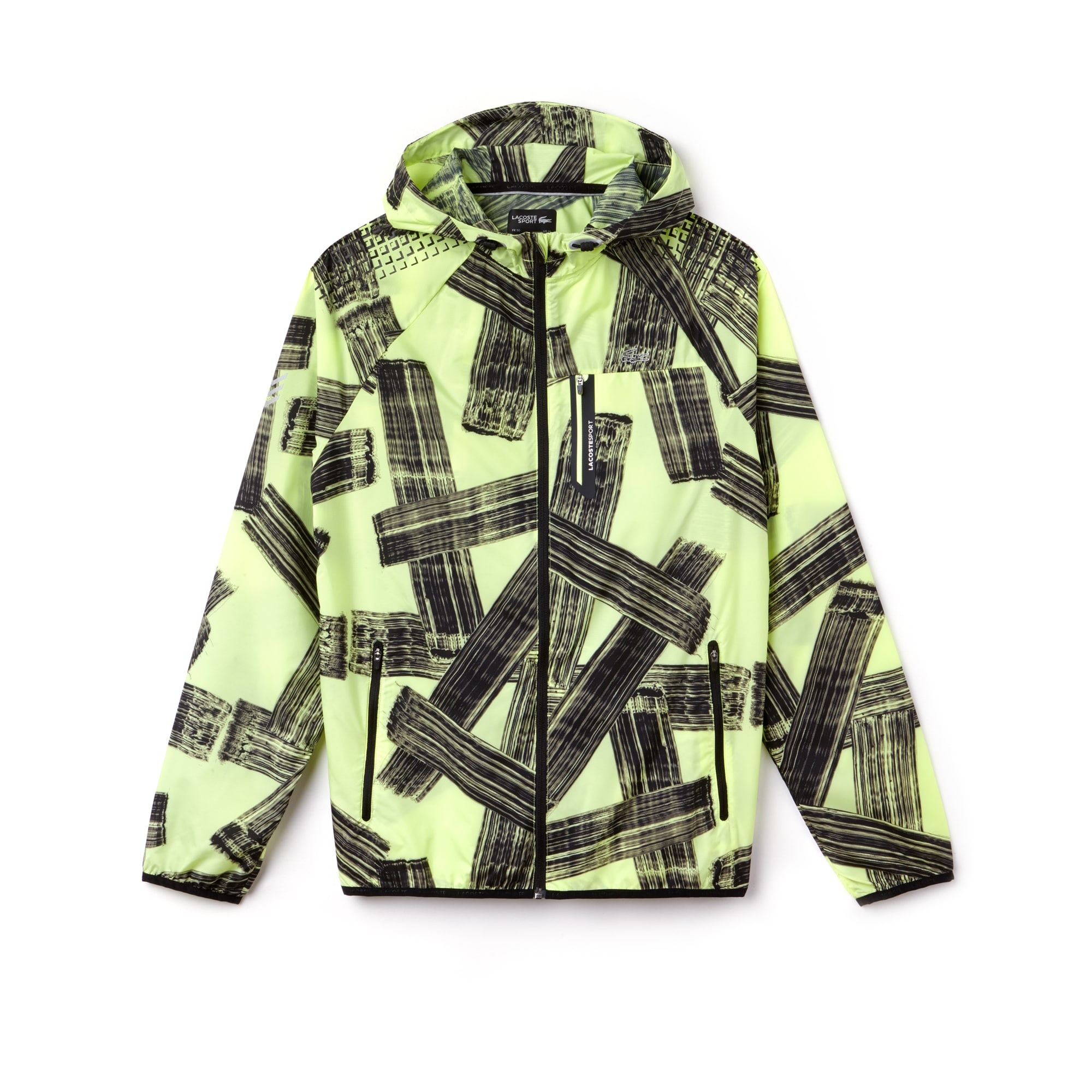 Men's SPORT Hooded Print Tennis Jacket