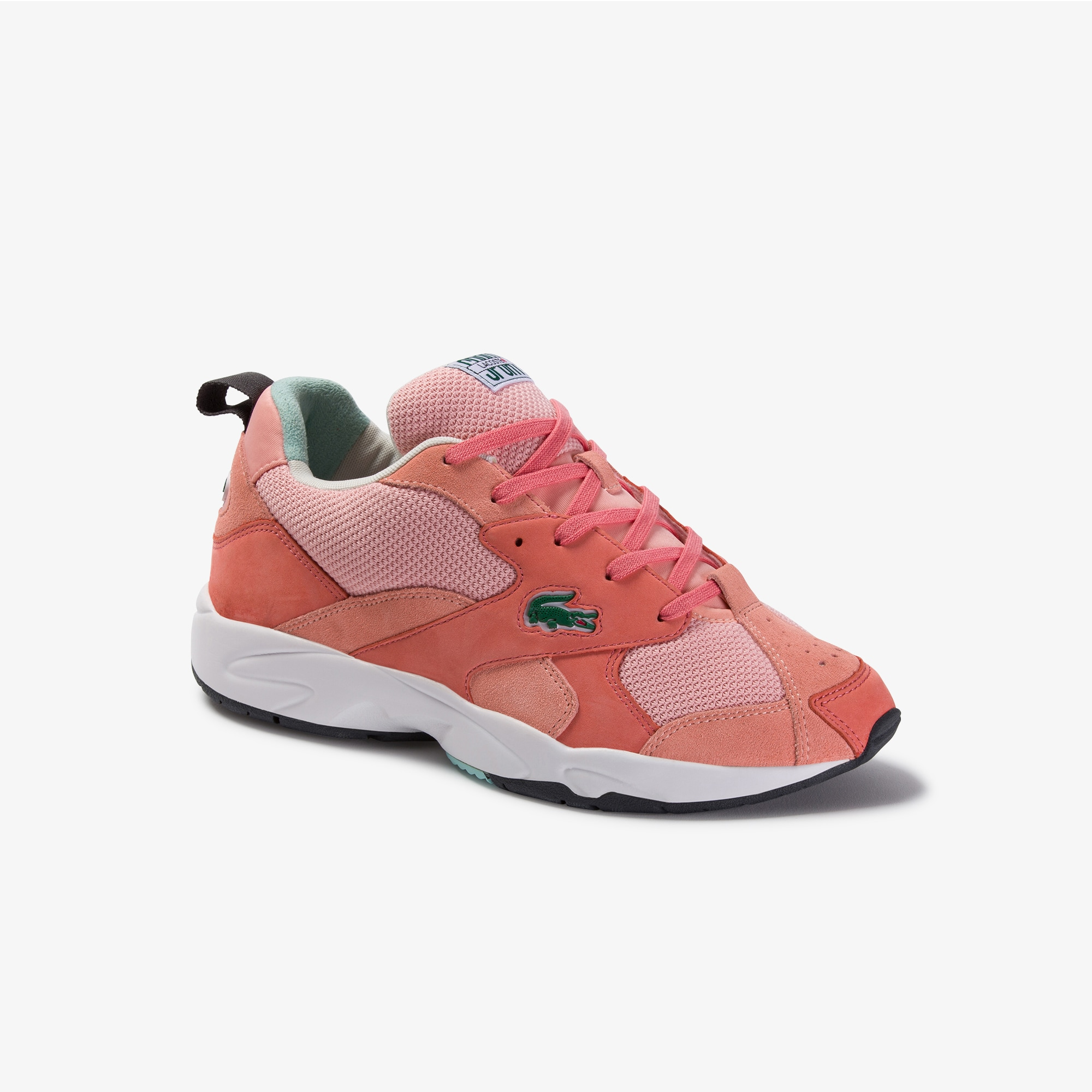 Lacoste Mens Storm 96 Mesh and Suede Sneakers
